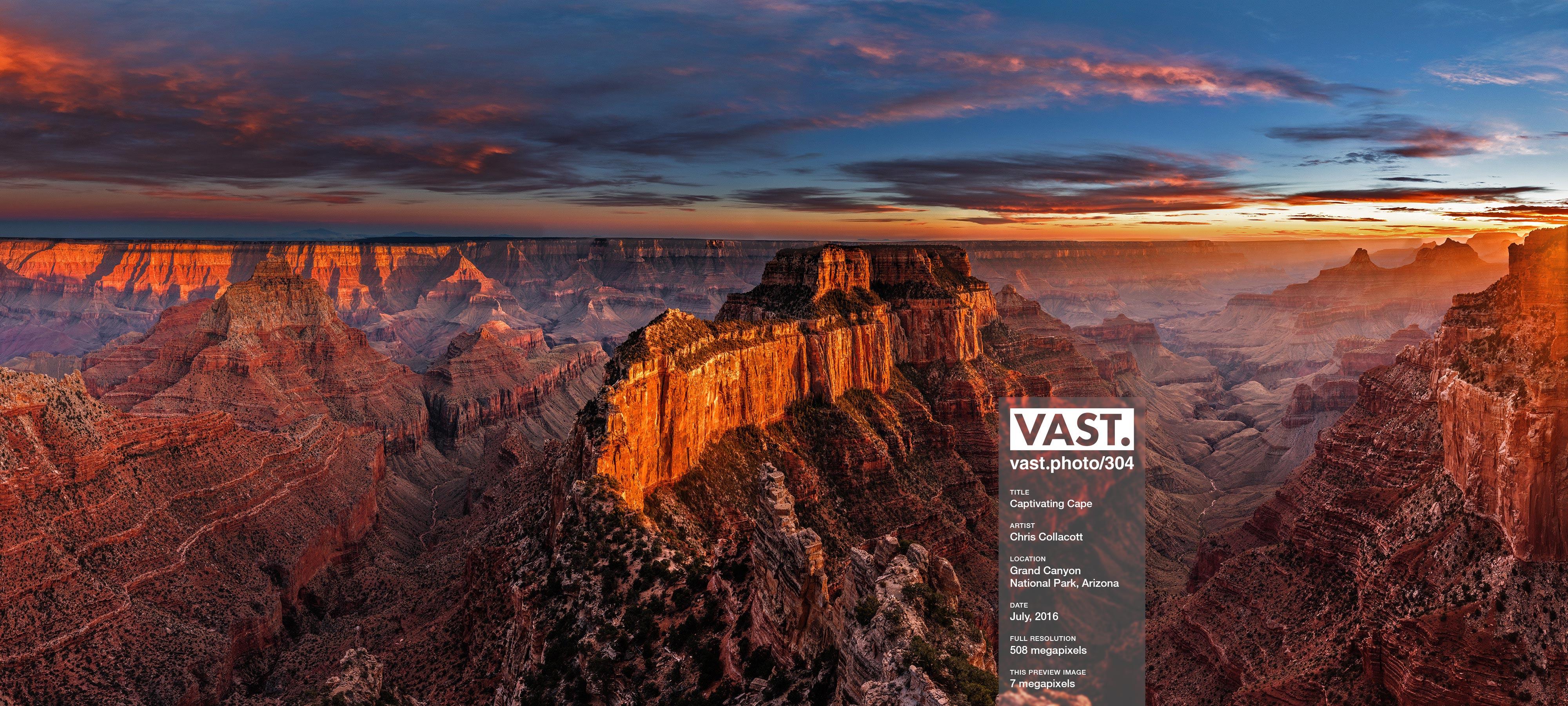 High Resolution Grand Canyon Photos & Large-Format Prints - VAST