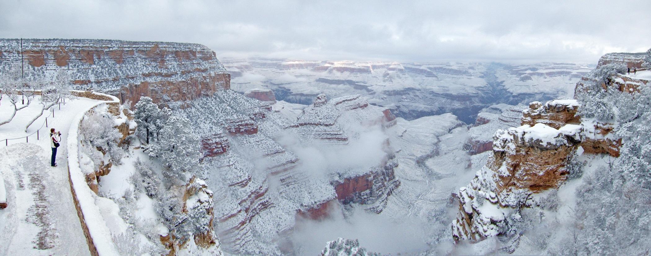 Grand Canyon, Canyon, Frozen, Grand, Ice, HQ Photo