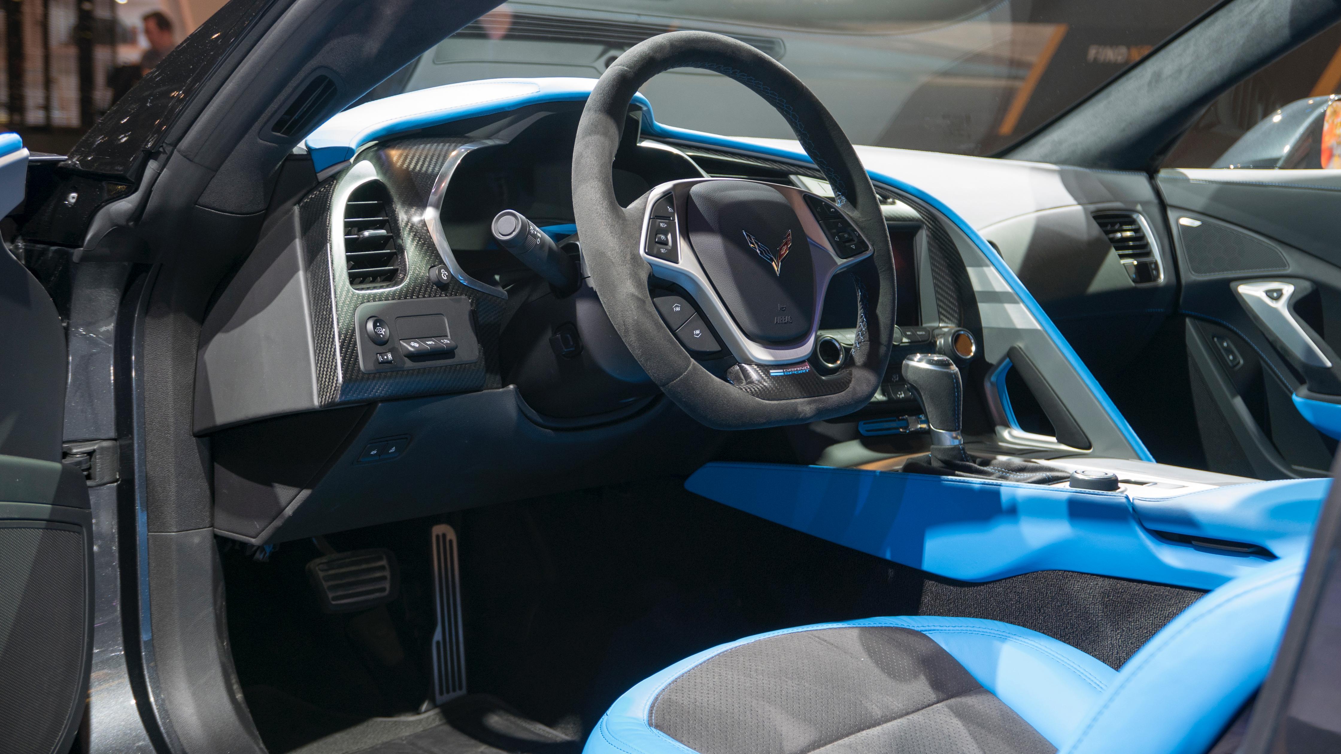 Grand sport corvette intérieur interior photo