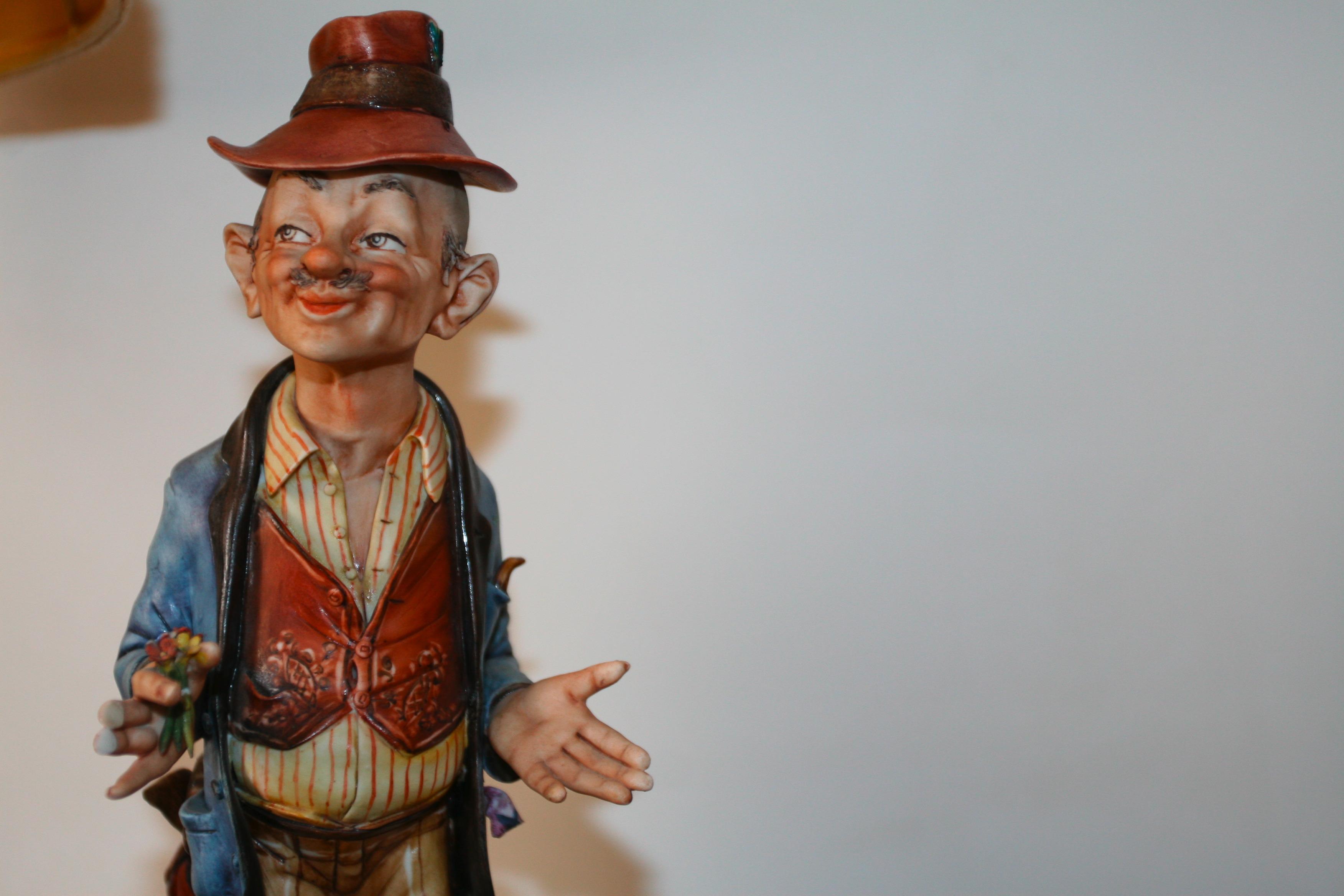 Grandpa, puppet, smile, oldman, white, HQ Photo