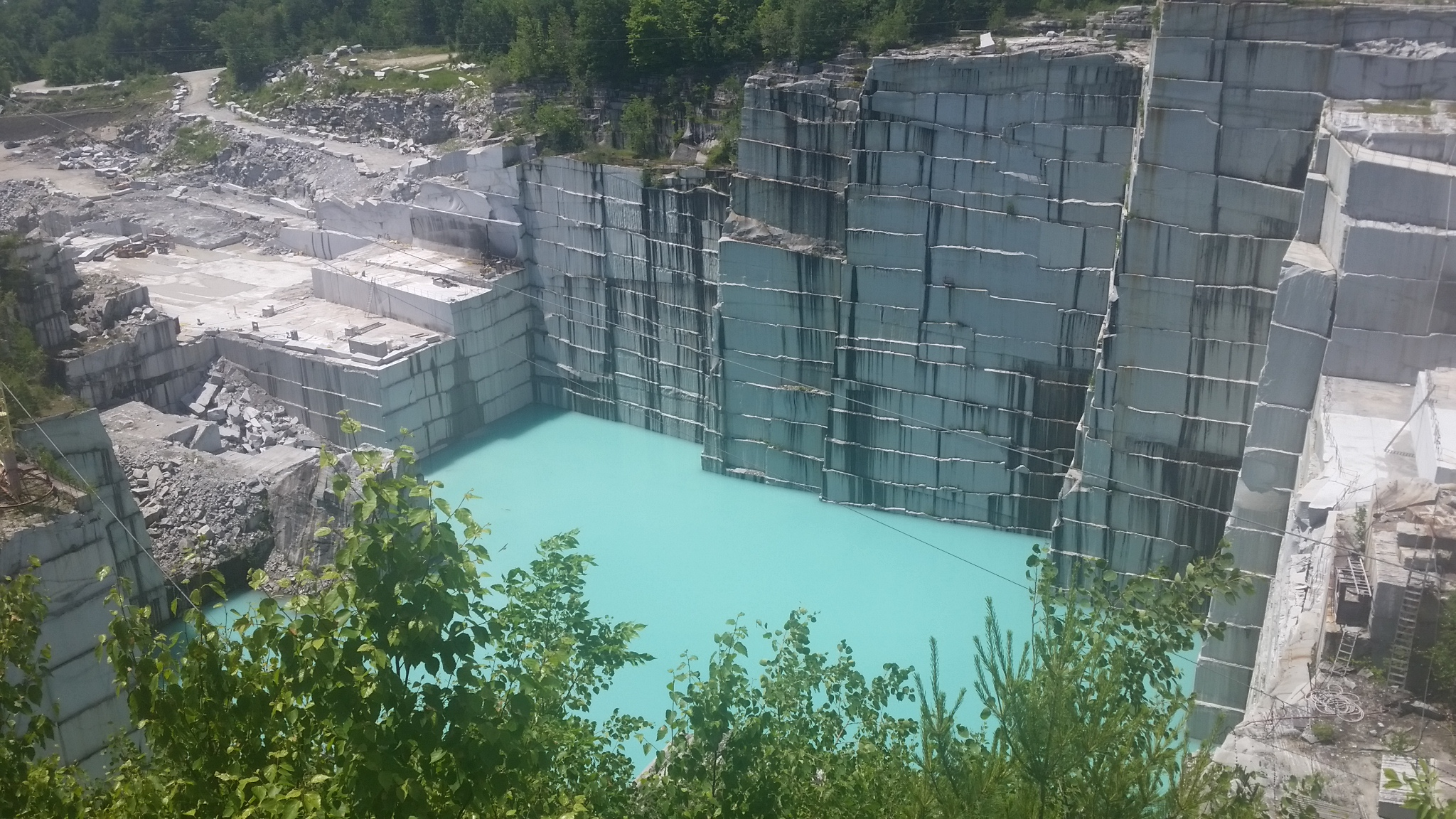 06.30.16 – Rock of Ages Granite Quarry in Barre, Vermont – Dora and ...
