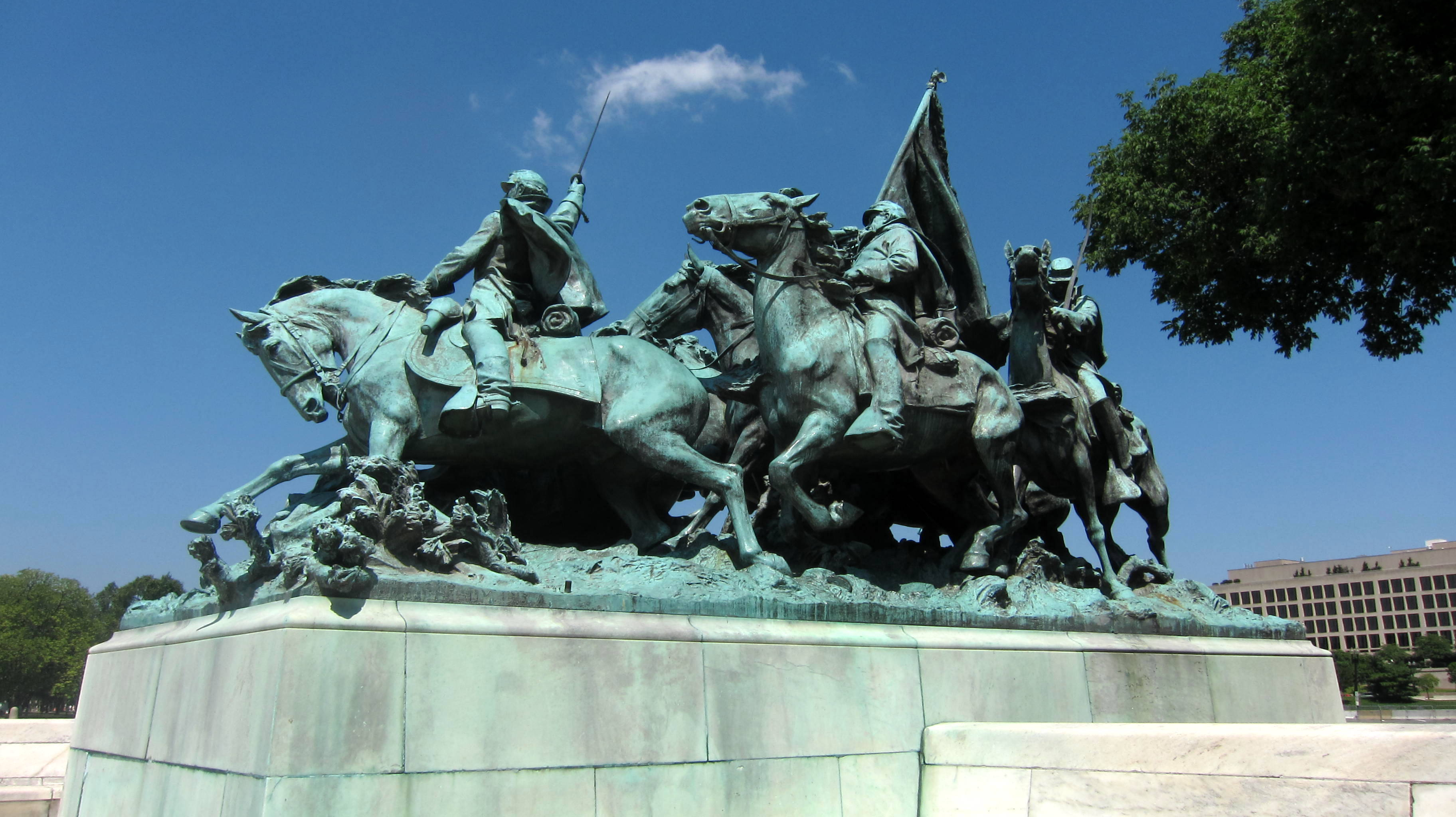 Grant cavalry memorial photo