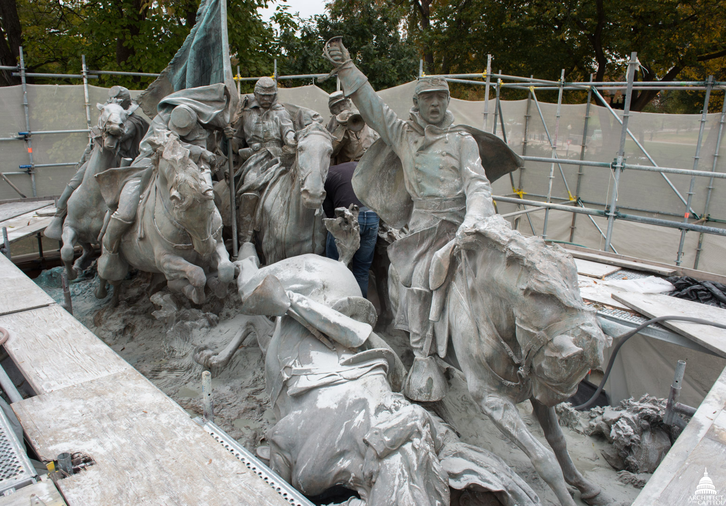 Conserving the Grant Memorial | Architect of the Capitol | United ...