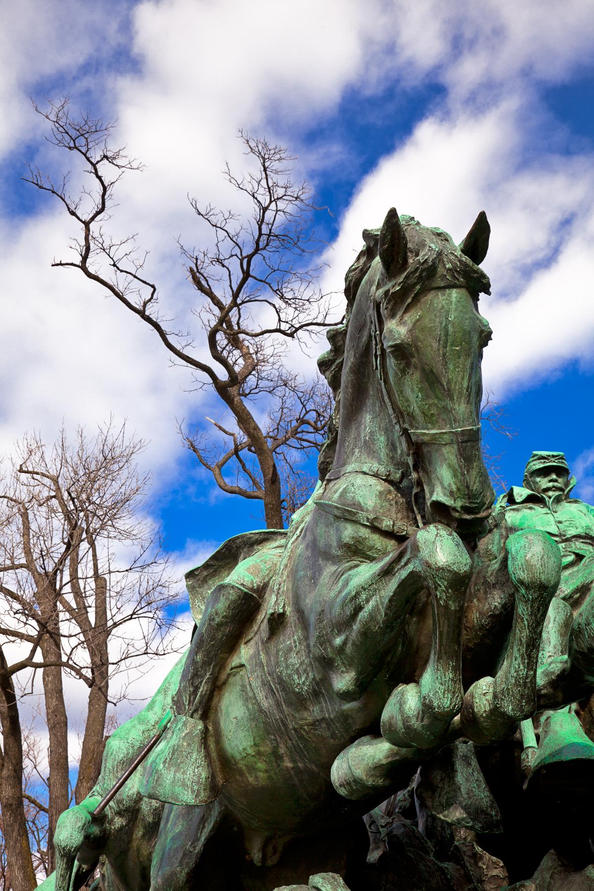 Grant Cavalry Memorial, States, Memorial, Monument, Photo, HQ Photo