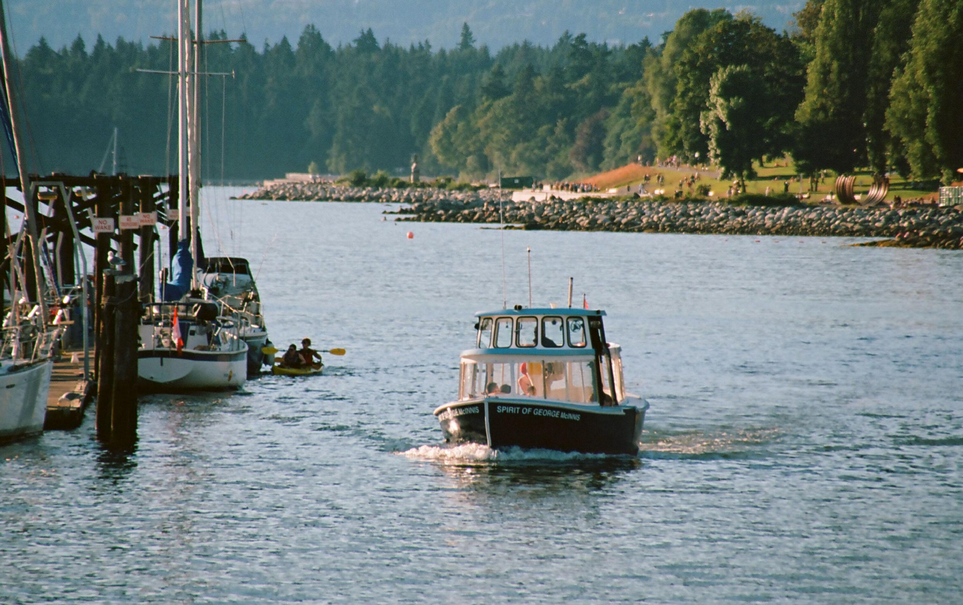 Granville island ferry photo