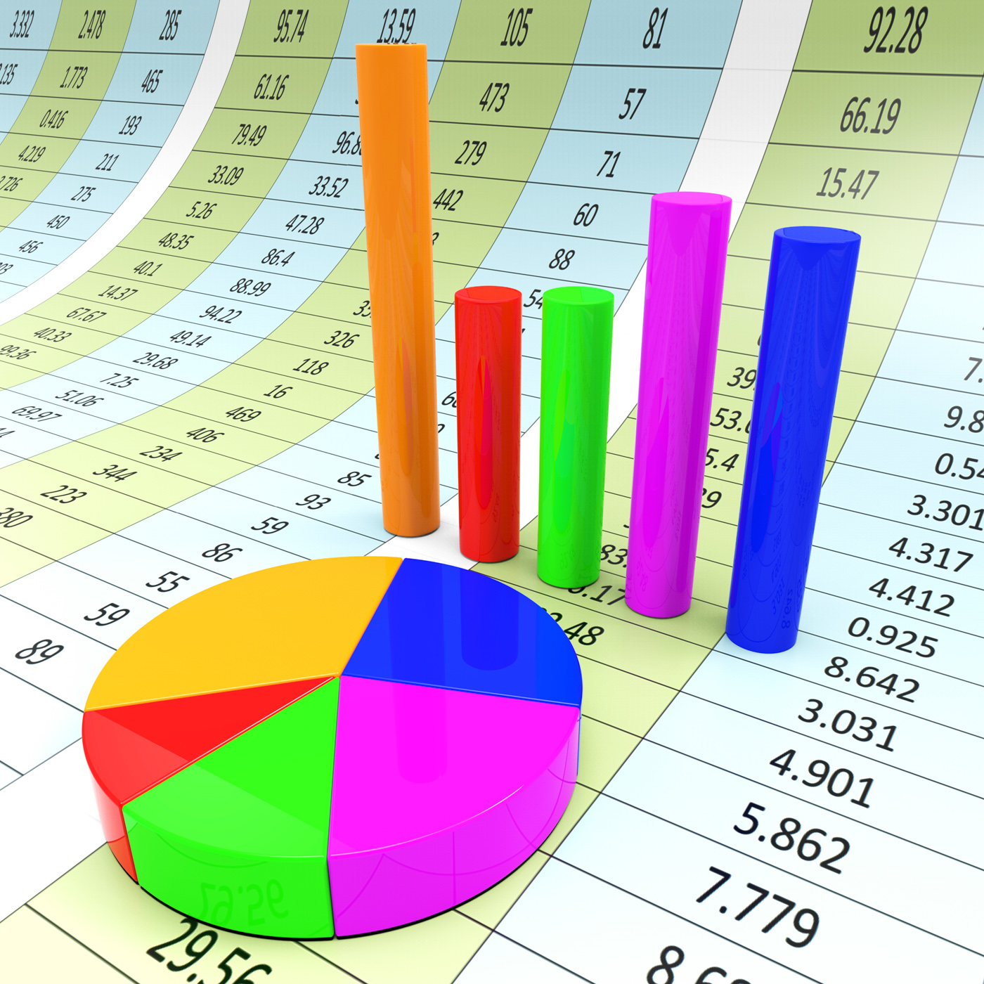 Graph report indicates diagram charts and analysis photo