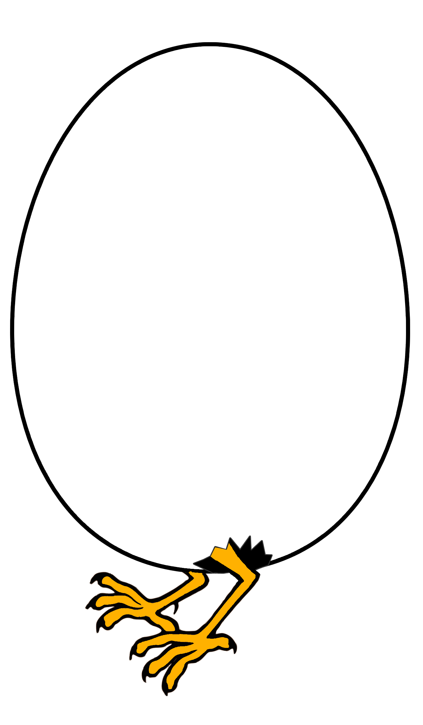 Graphical egg photo
