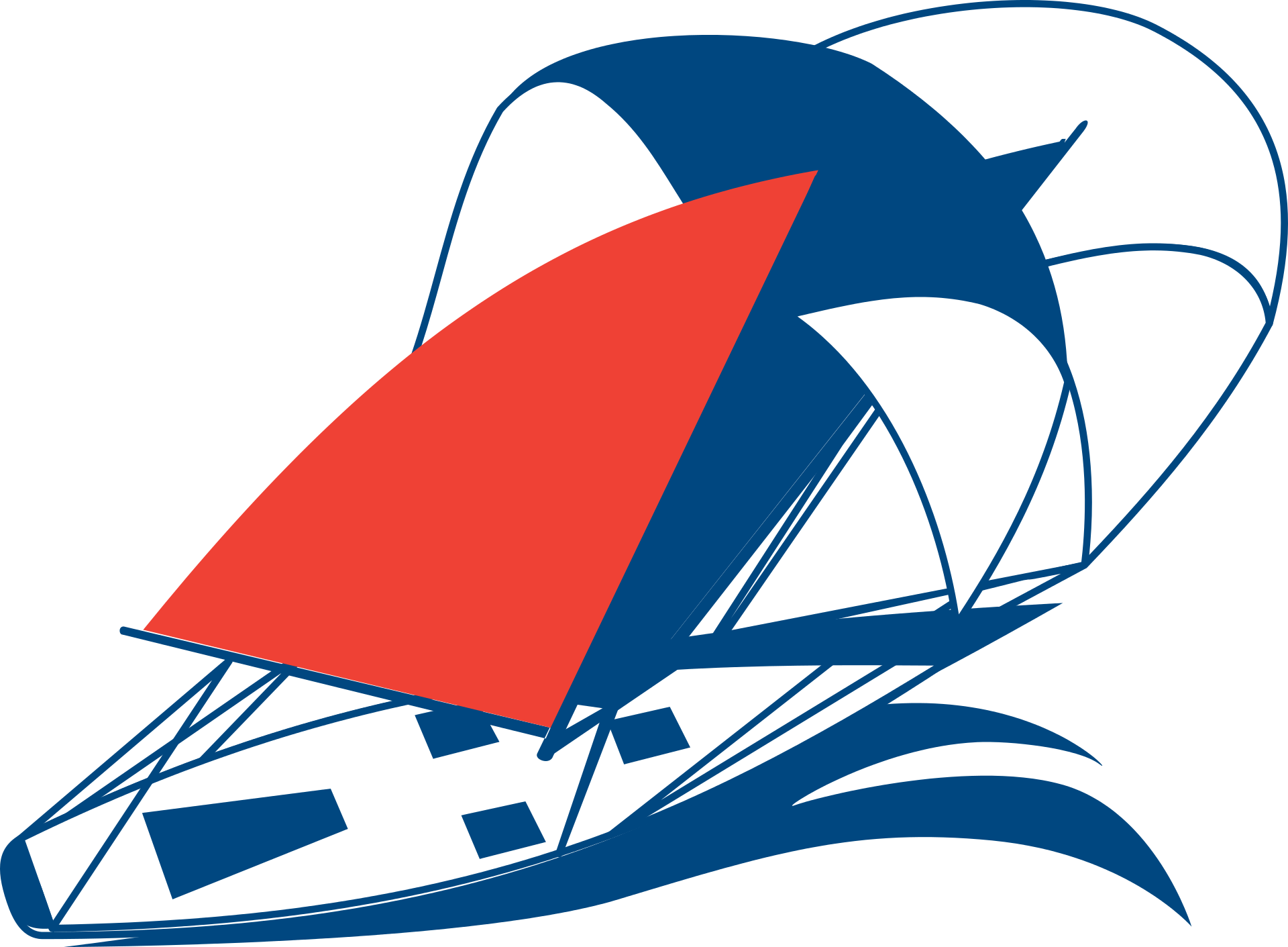 Graphical yacht photo