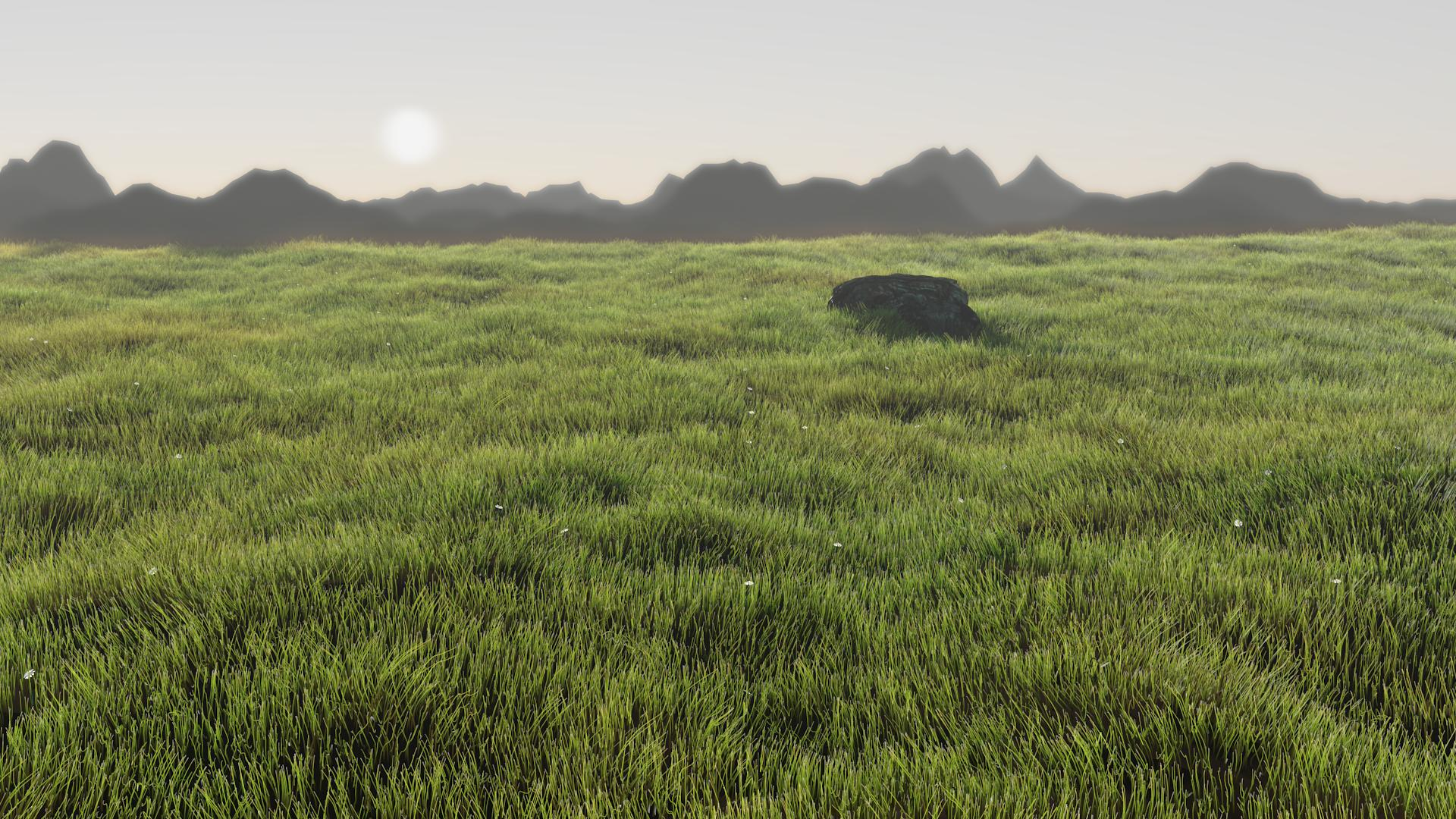 Grass Field - Focused Critiques - Blender Artists Community