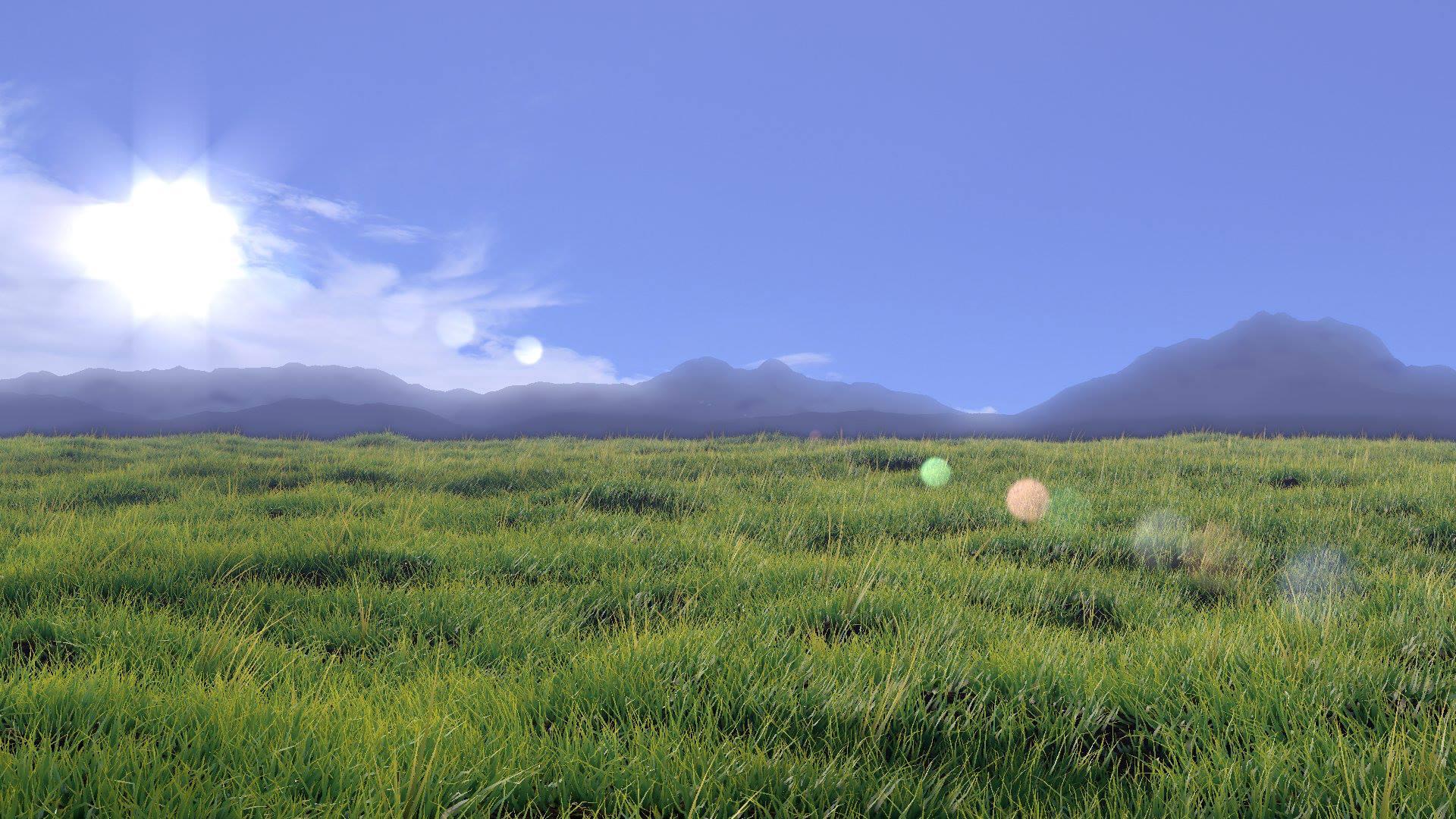 Grass field by 50Groszy on DeviantArt