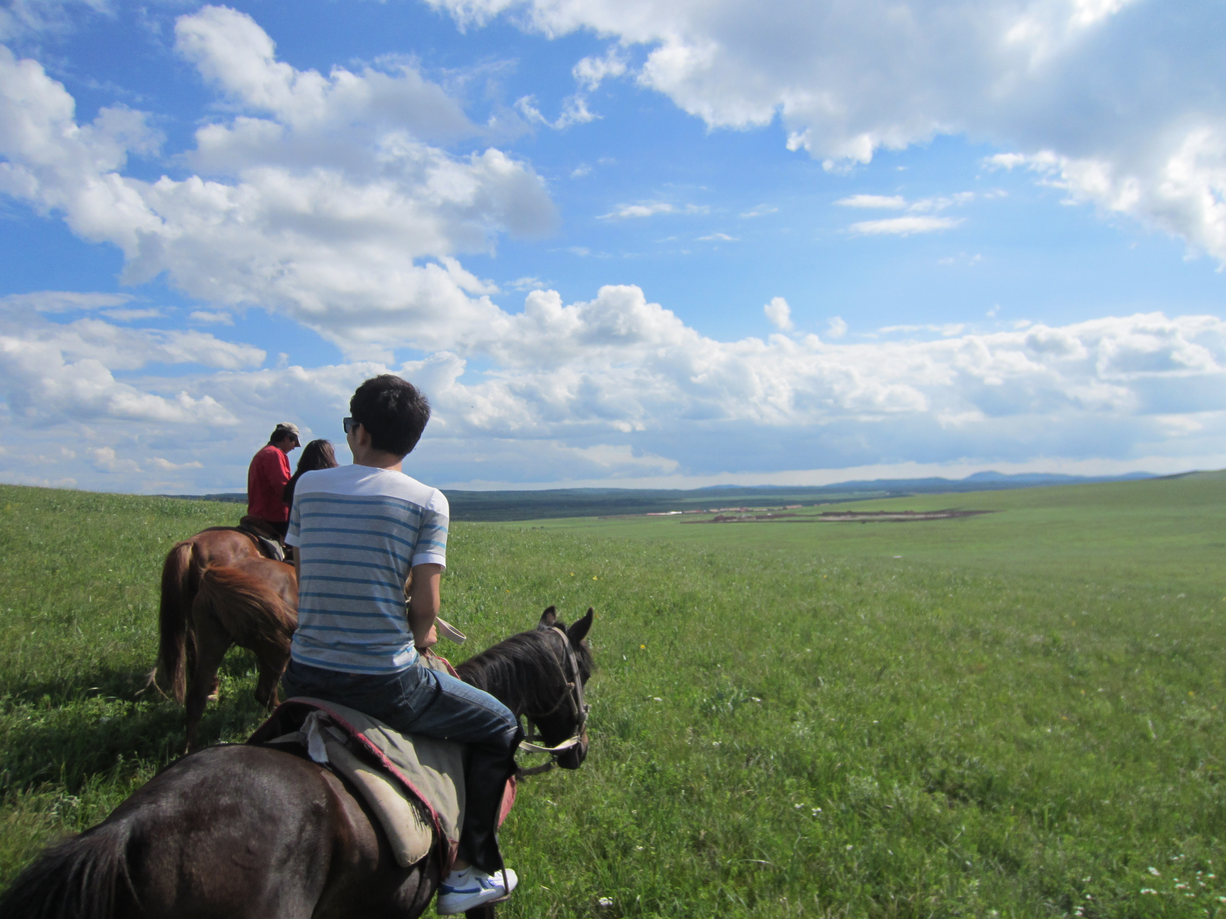 Grasslands, Inner Mongolia, great riding on Mongolian ponys | Ed in ...