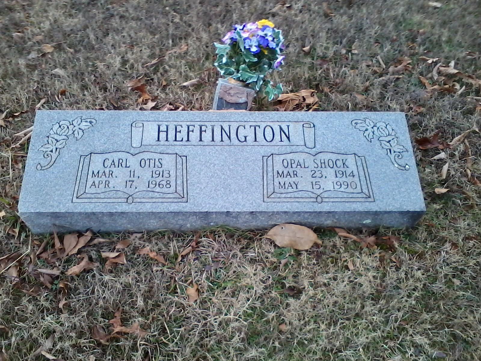 Opal Grace Shock Heffington (1914-1990) - Find A Grave Memorial
