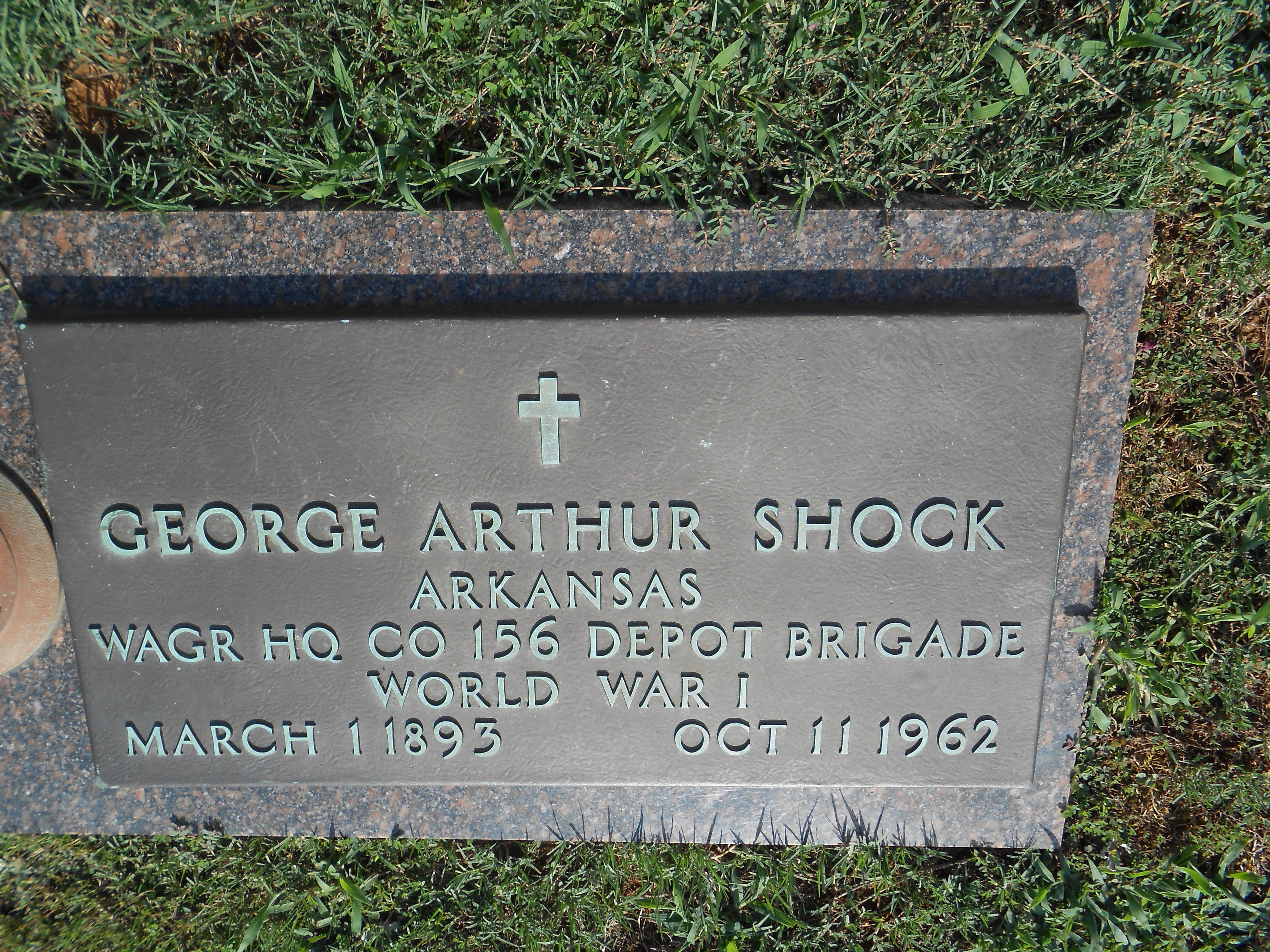 George Arthur Shock (1893-1962) - Find A Grave Memorial