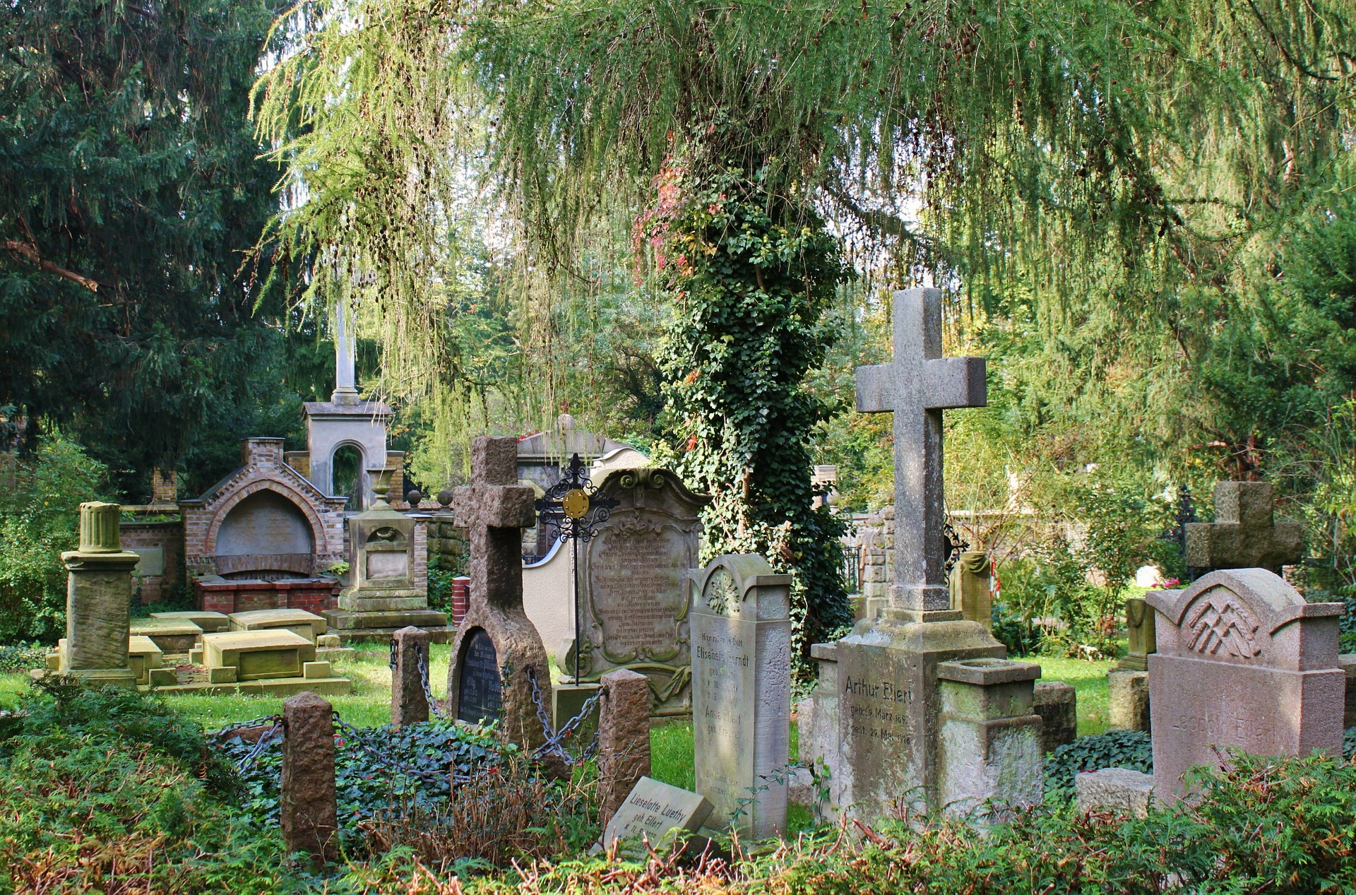 Graveyard, Architecture, Grave, Yard, HQ Photo
