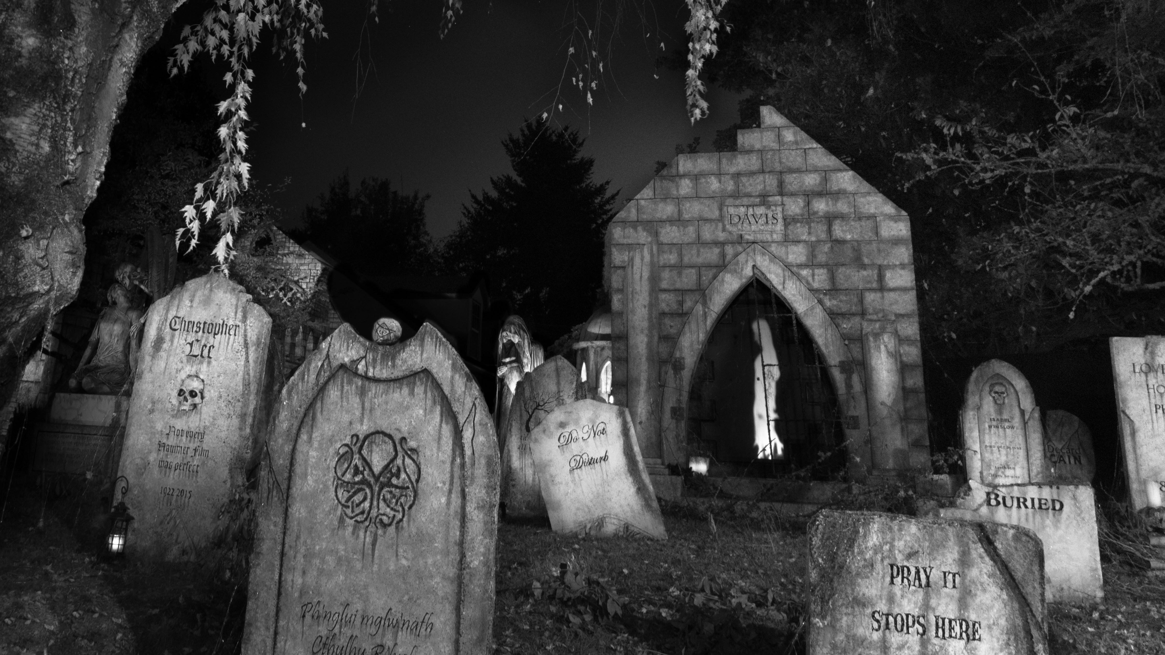 October :: 2017 :: Davis Graveyard