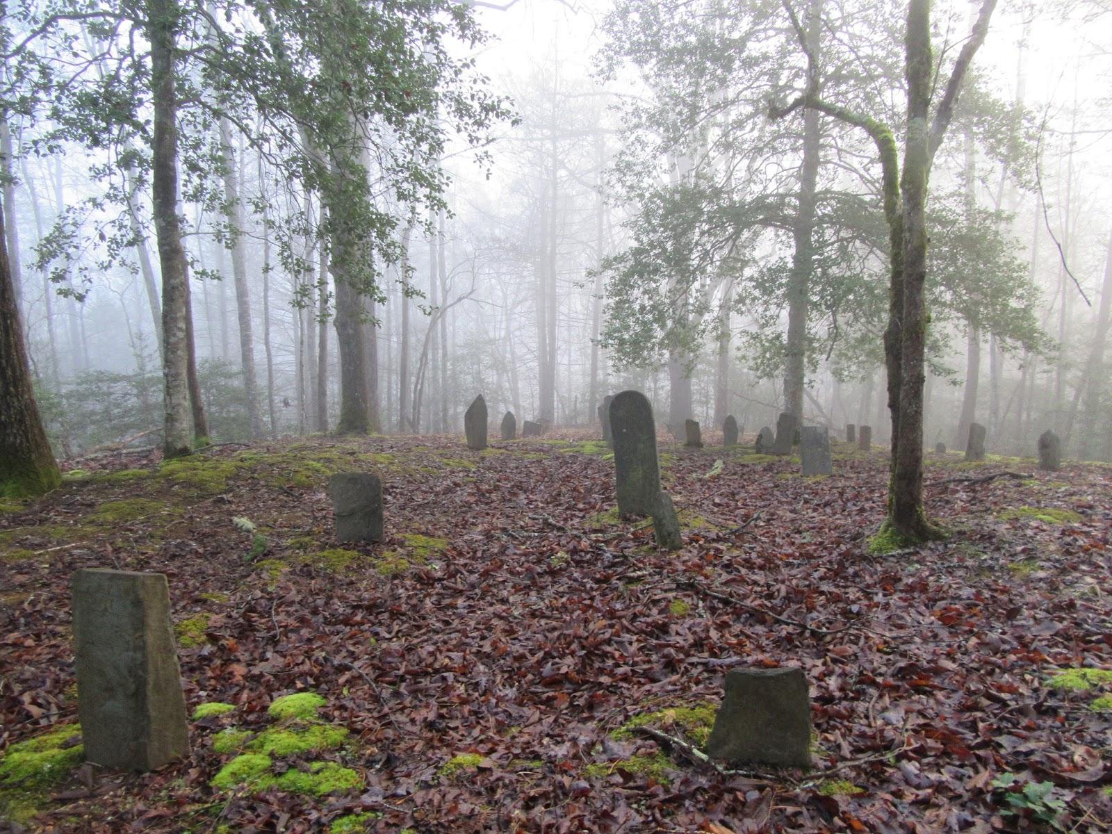 Smoky Mountain Cemetery Creeping: Green Cemetery (Marion Green Cemetery)