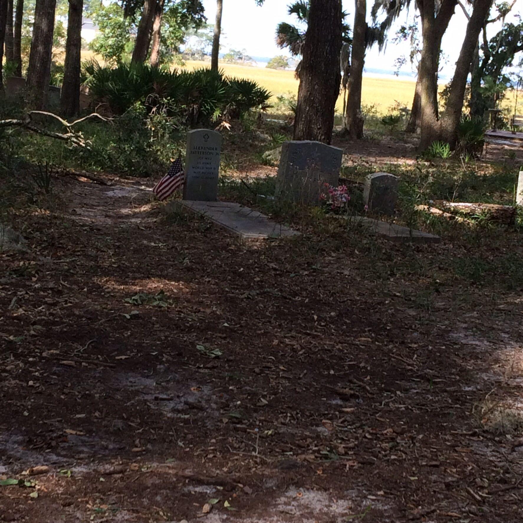 The Graveyard in the Pine Island area of Hilton Head Plantation (pre ...