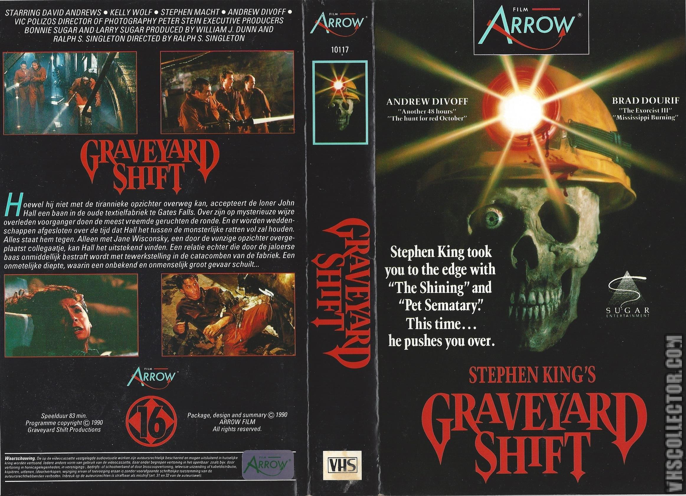 Stephen King's Graveyard Shift   VHSCollector.com - Your Analog ...