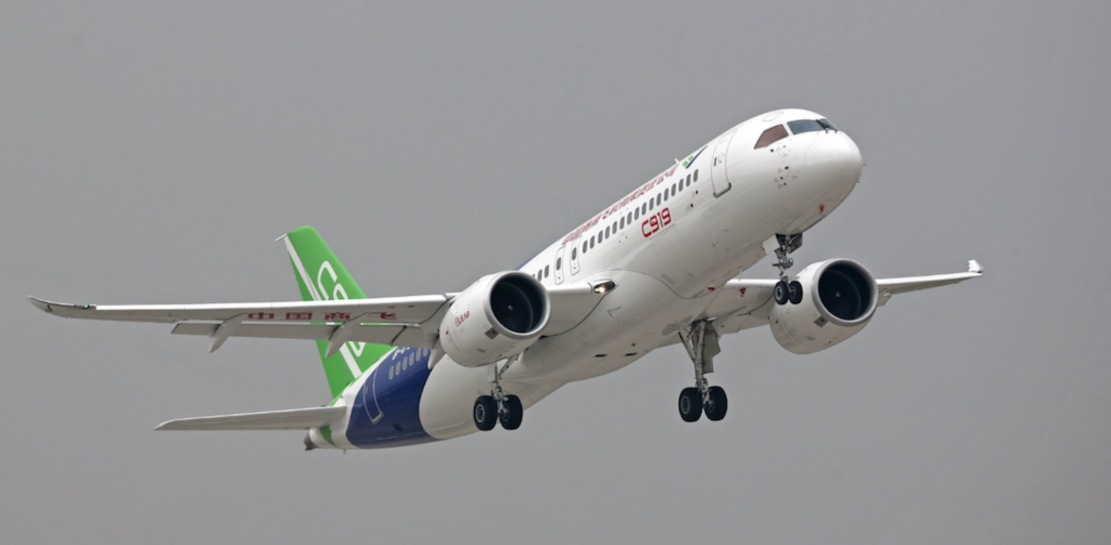 Comac's C919 Airliner Takes Flight from Shanghai | Air Transport ...