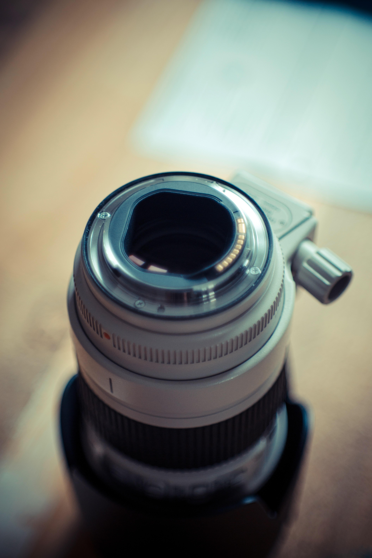 Gray and Black Camera Lens, Blur, Camera, Close-up, Contemporary, HQ Photo