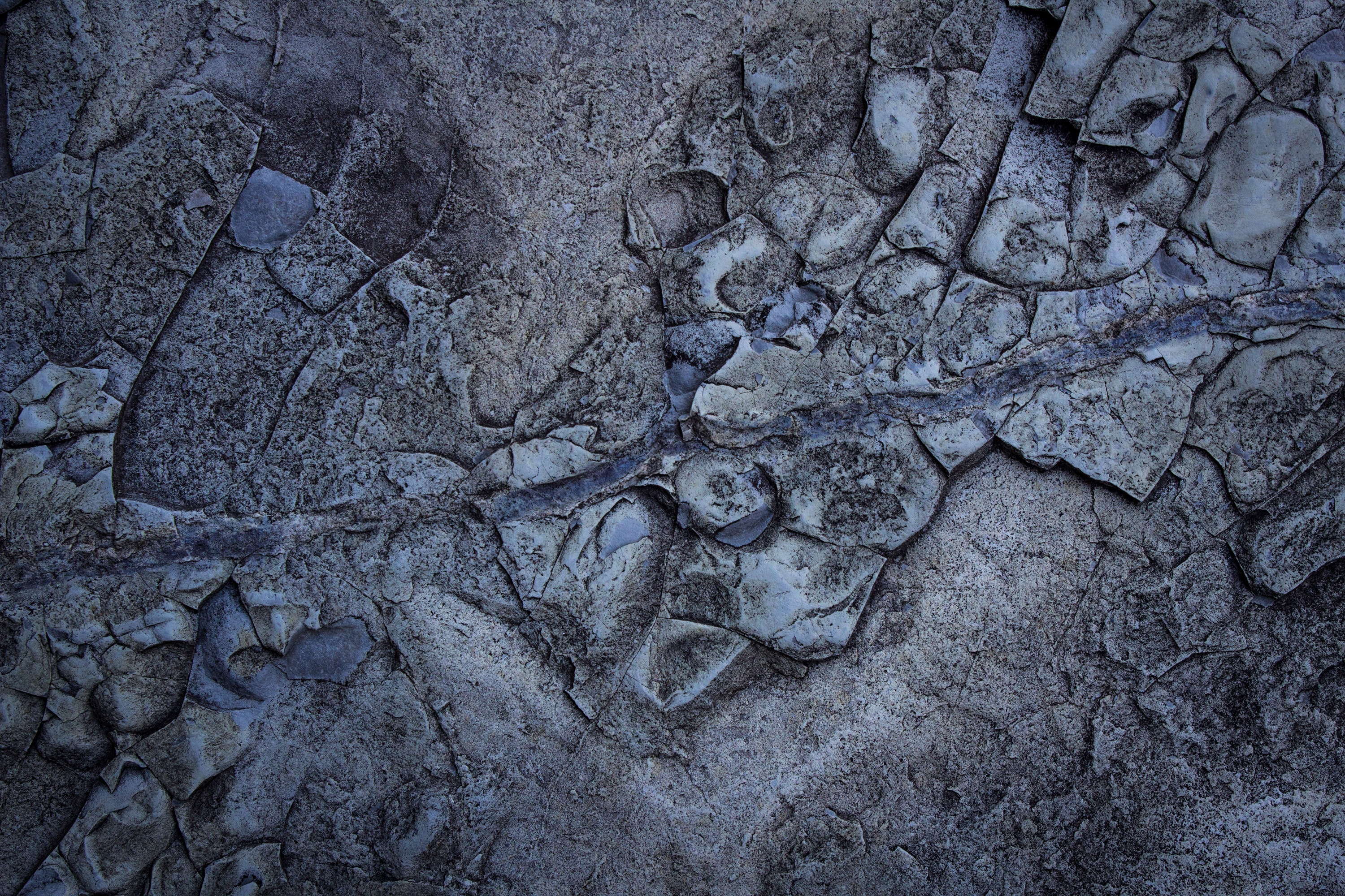Gray and Blue Land Form, Abstract, Dirty, Texture, Surface, HQ Photo