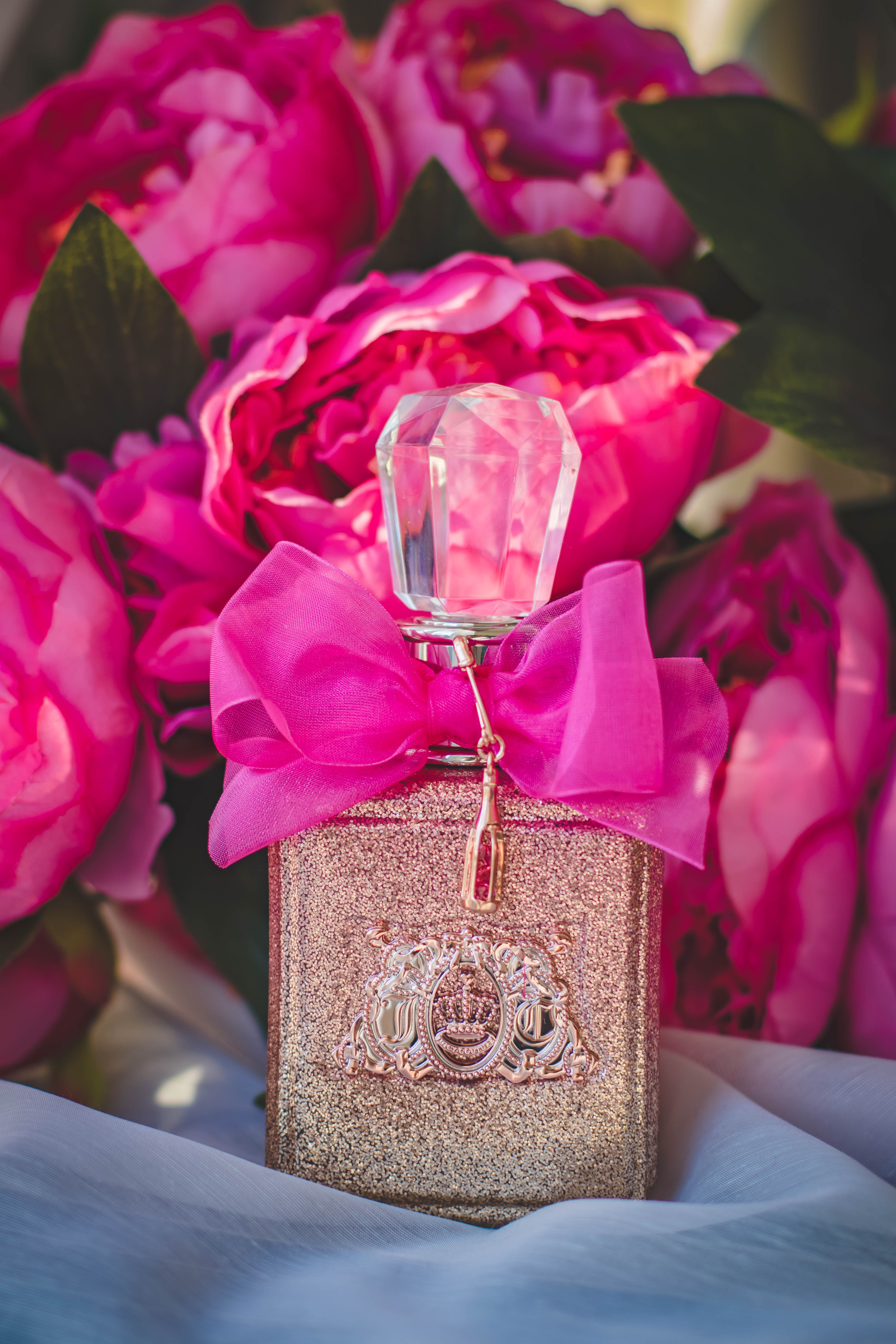 Gray and Pink Labeled Fragrance Bottle, Anniversary, Fragrance, Scent, Romantic, HQ Photo