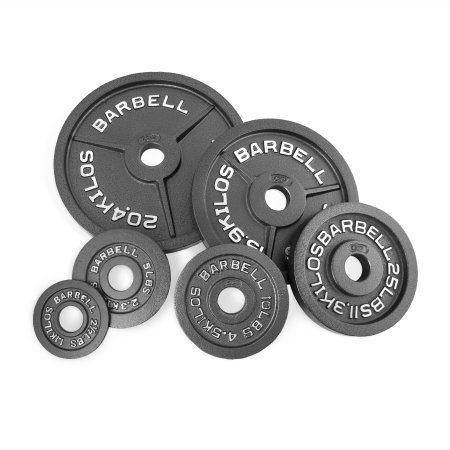 CAP Barbell 2-Inch Olympic Plate, Assorted Colors - Walmart.com