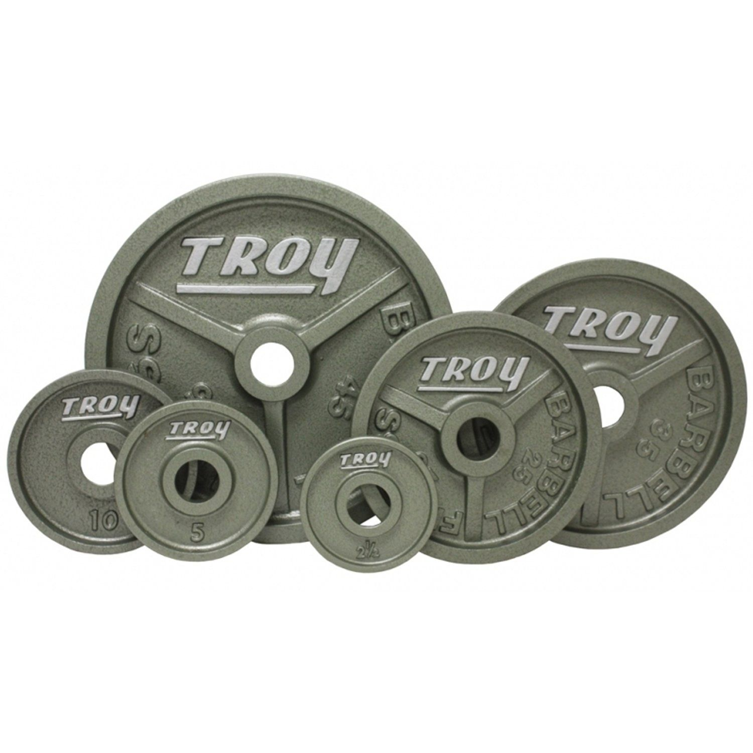 Troy High Grade Fully Machined Wide Flanged Olympic Plate. Rich ...