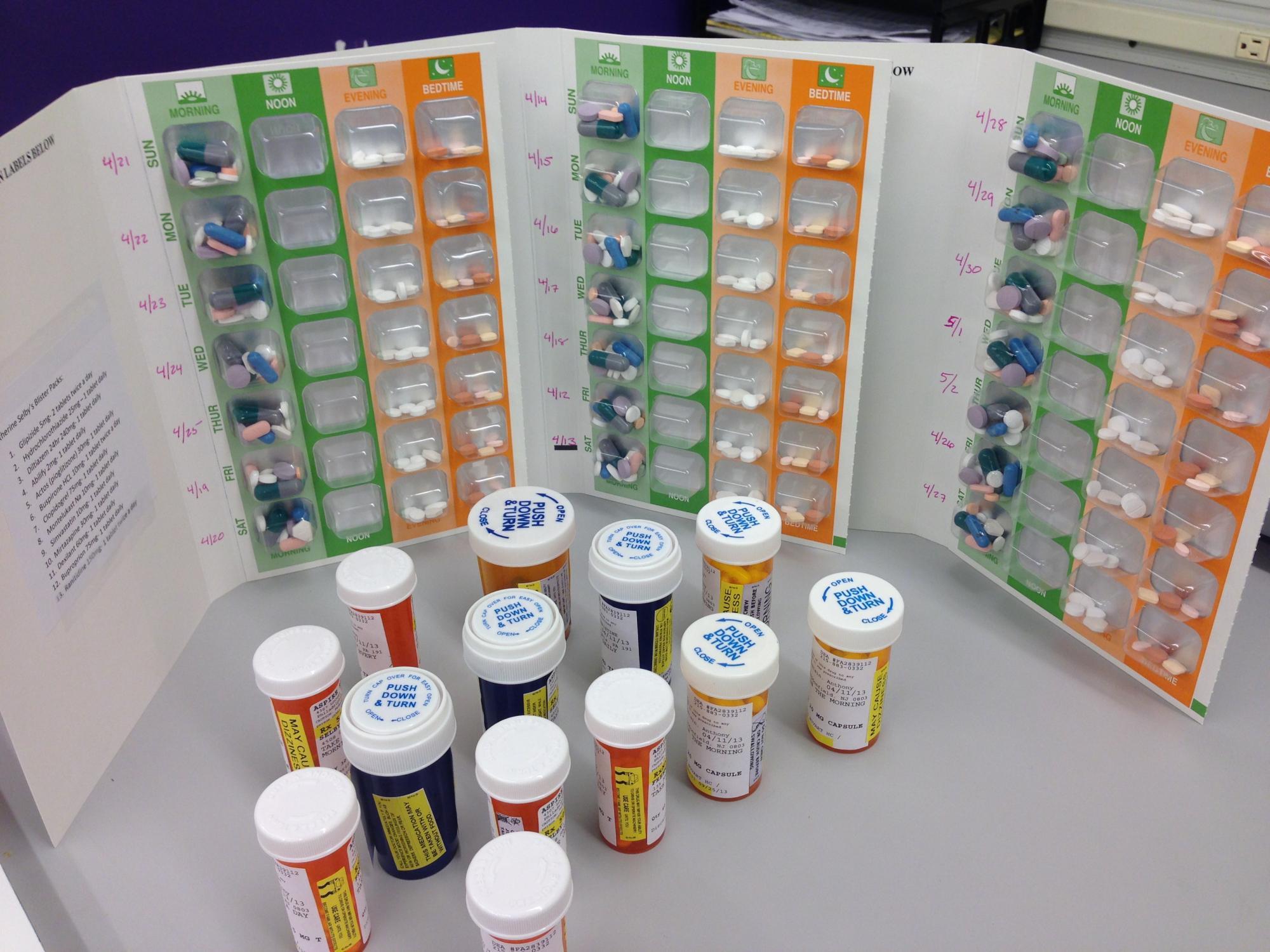 Blister Packaging | Pharmacy Association of Nova Scotia