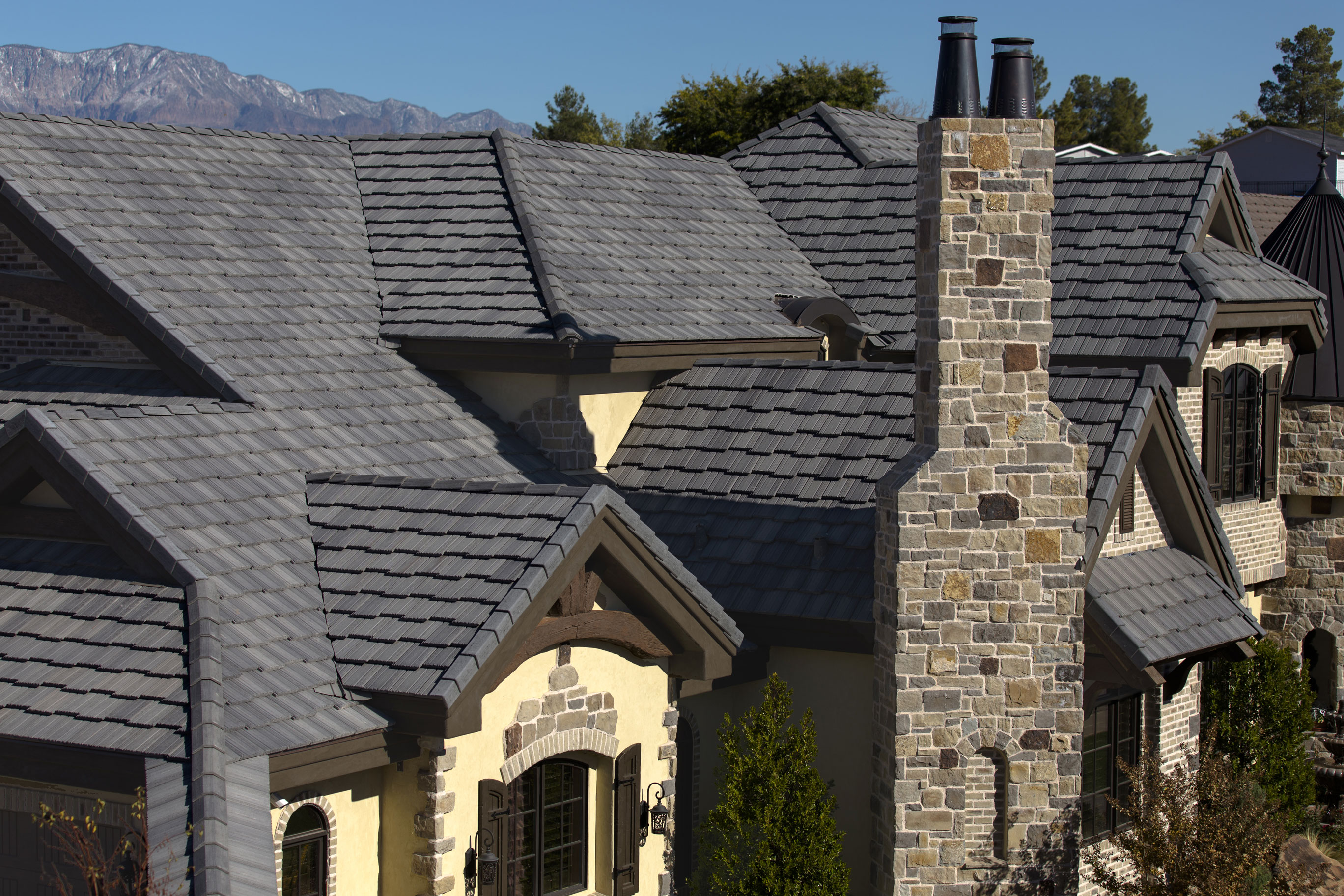 Eagle Design Corner: Dark Gray Concrete Tile Roofs Are Trending ...