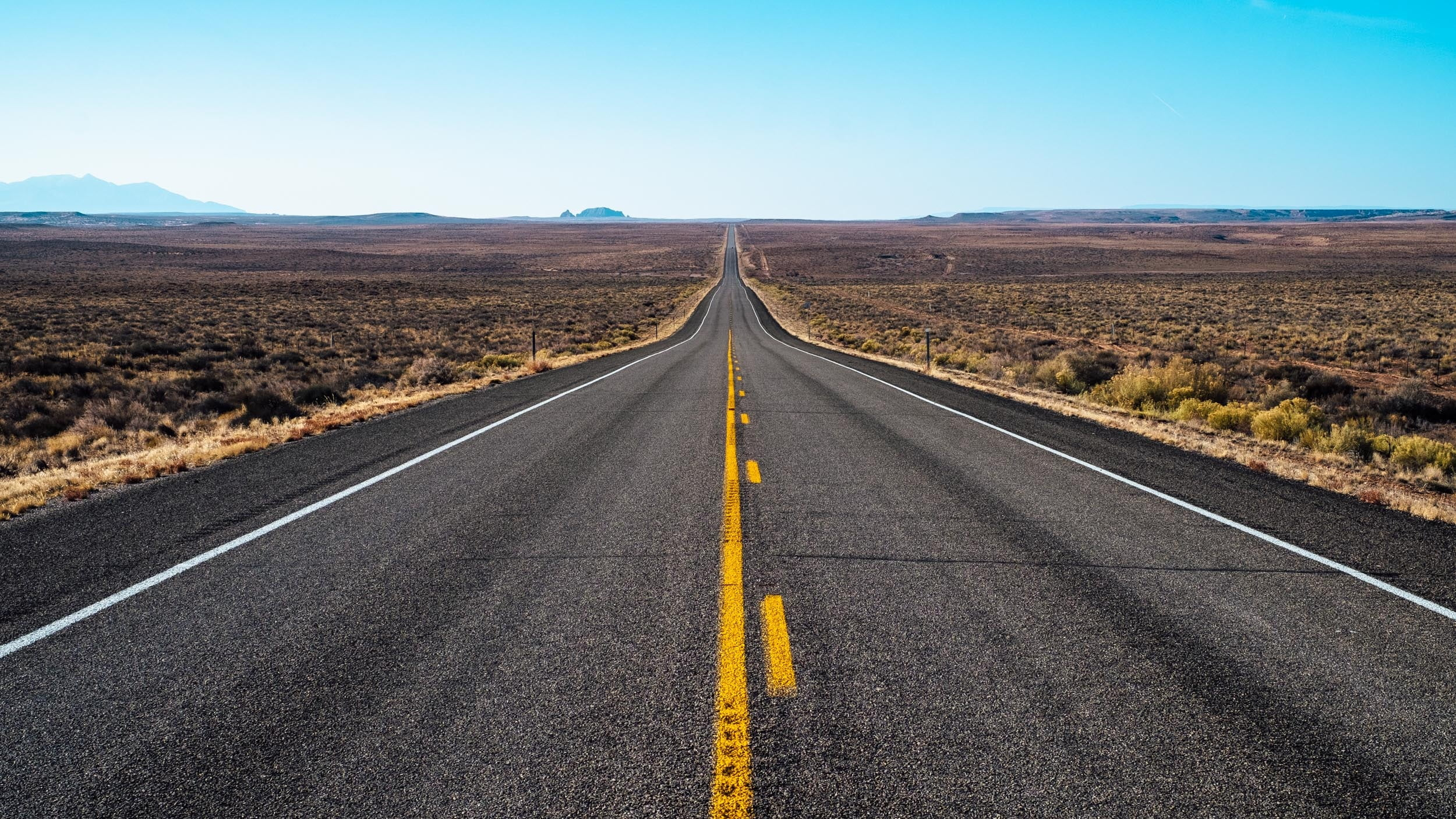Gray concrete road, Road, Marking, Direction HD wallpaper ...