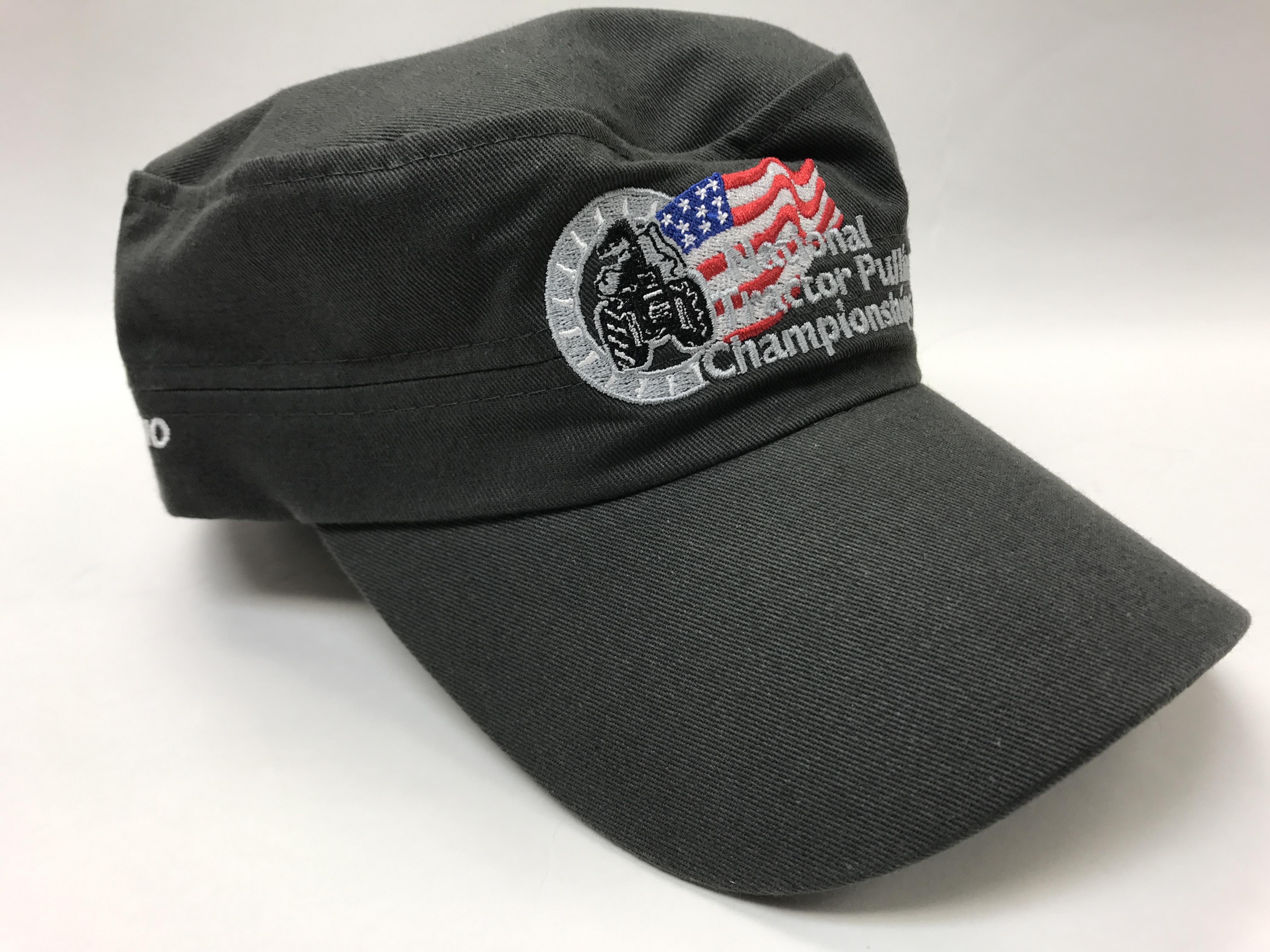 Low Profile Gray Hat : PullTown