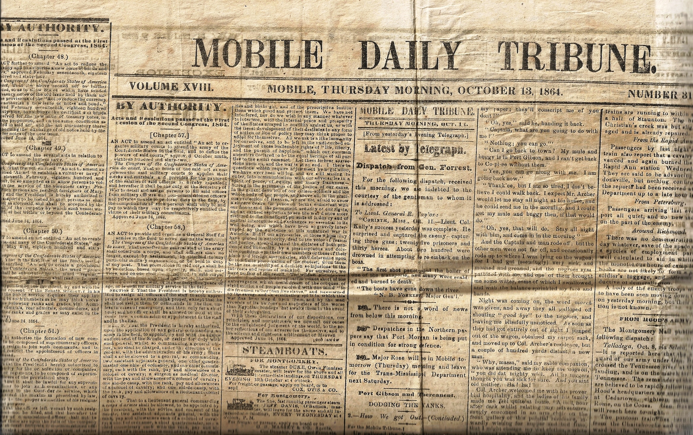 Newspapers Provide Background to Understand Civil War Ancestors ...
