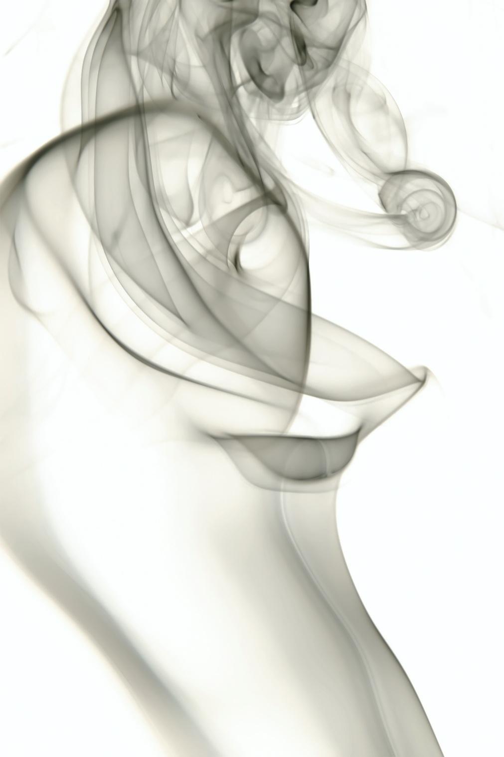Gray Smoke, Abstract, Smell, Meditation, Meditative, HQ Photo
