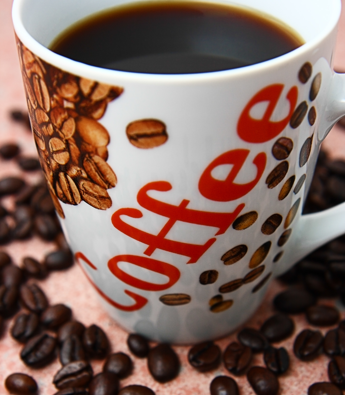 Great cup of freshly brewed coffee photo