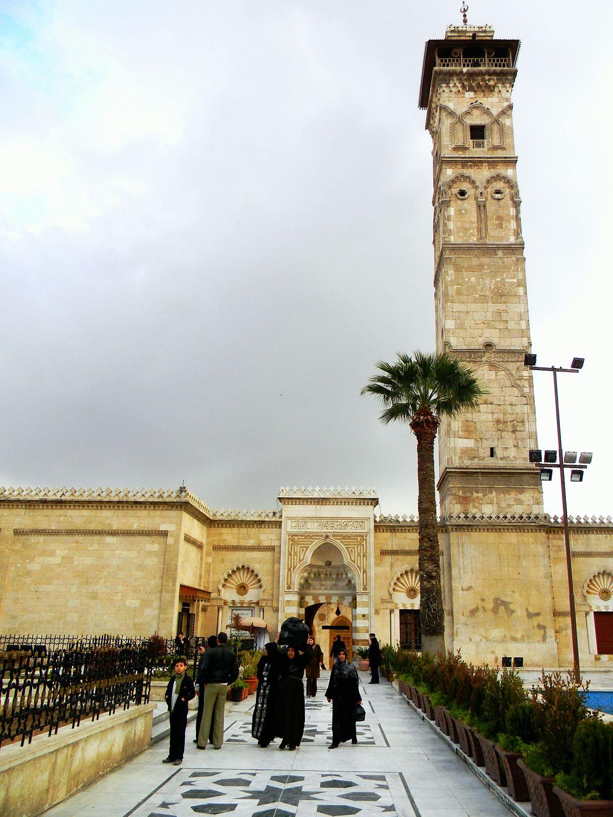 Great Mosque of Aleppo - Wikipedia
