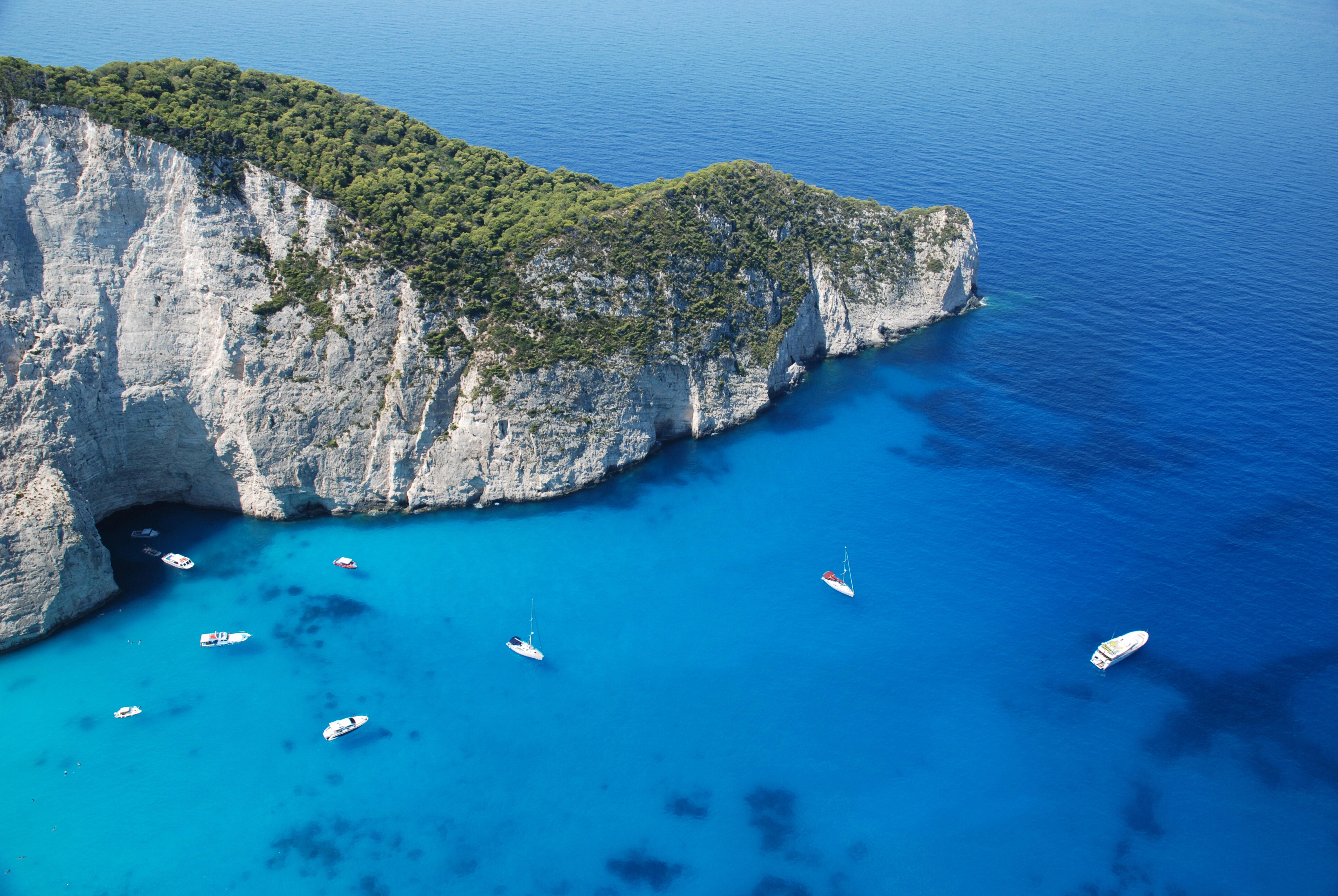 Greece, zakynthos landscape photo
