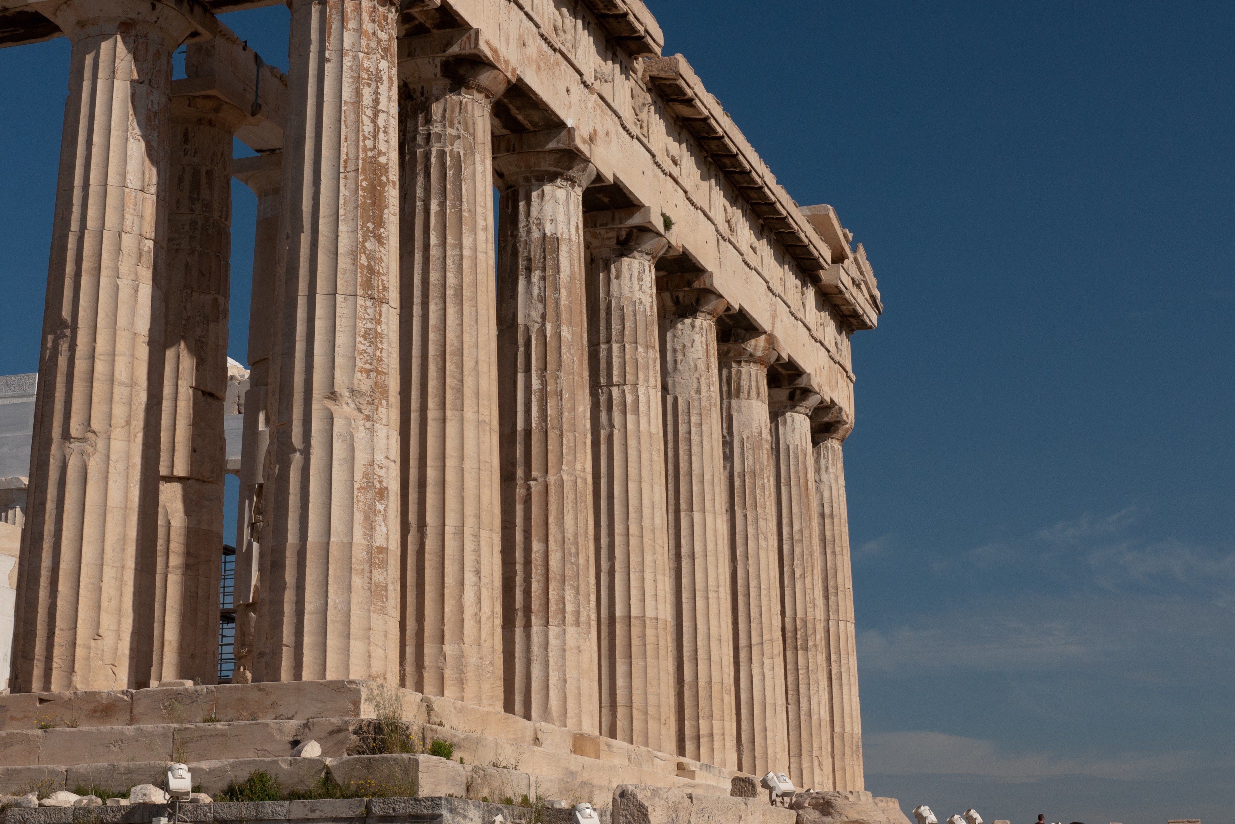 greek architecture building greece ancient parthenon wallpaper and ...