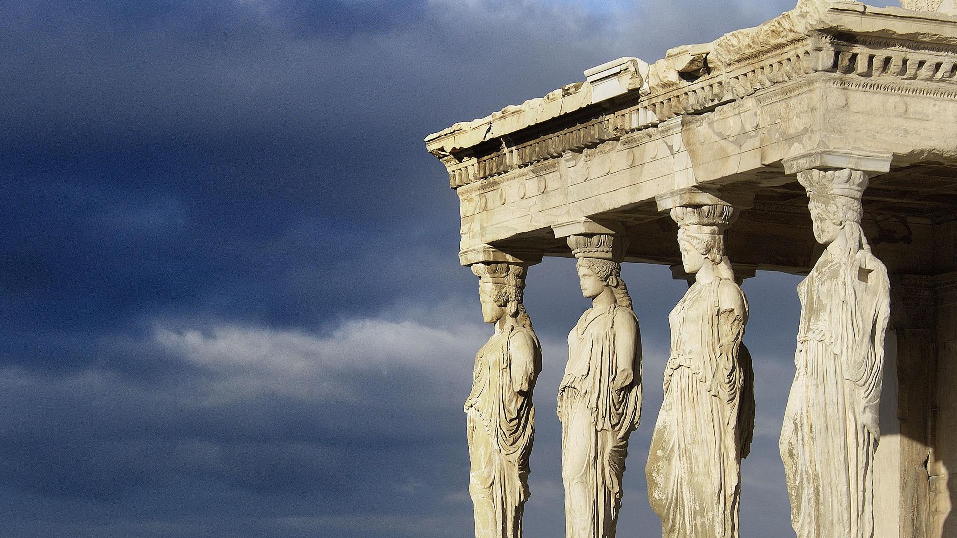 Desktop Backgrounds: Greek Architecture (#PLB6666, INC:46, 4K Ultra HD)