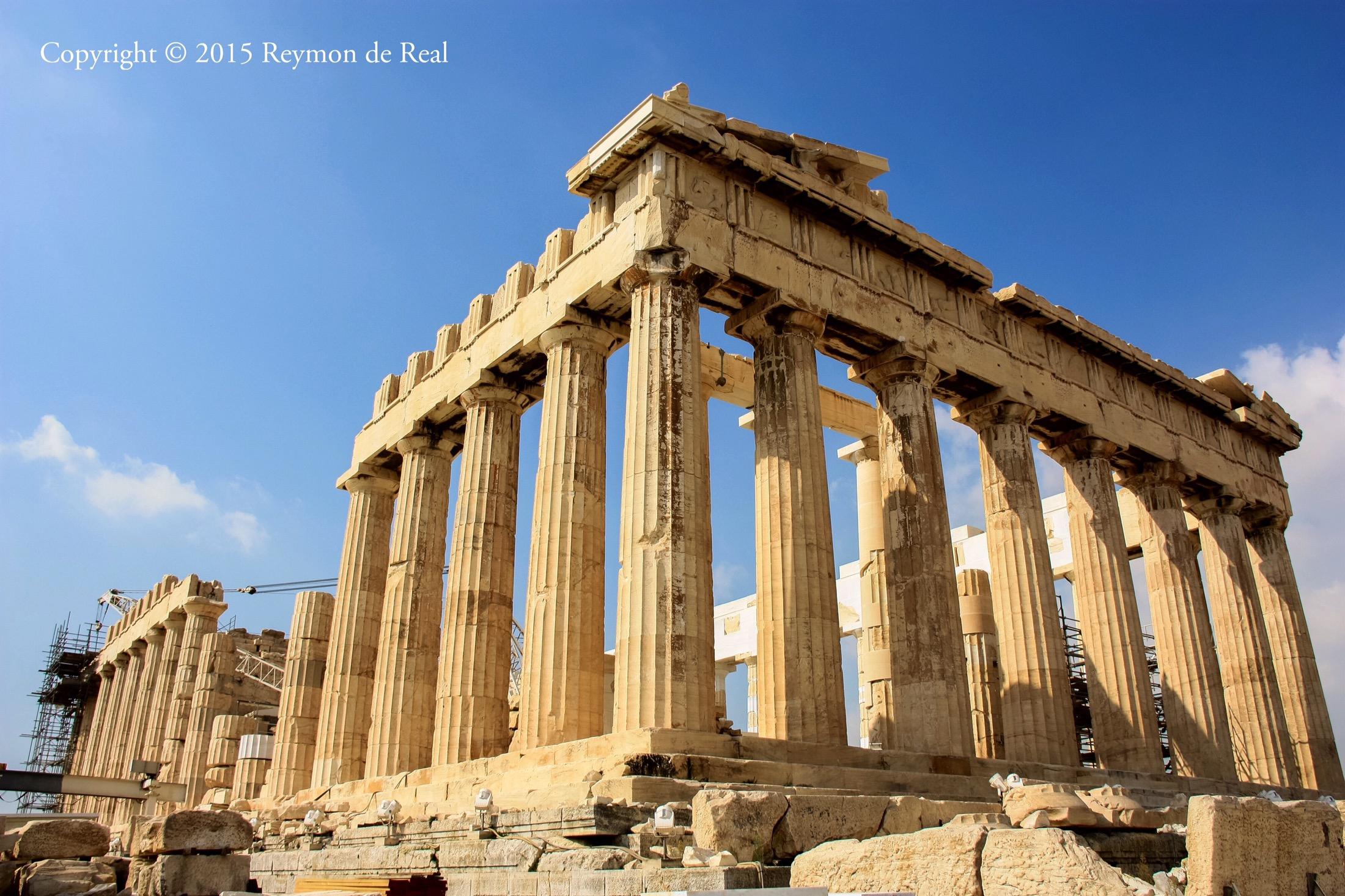 Greek Architecture | Reymon de Real Photography