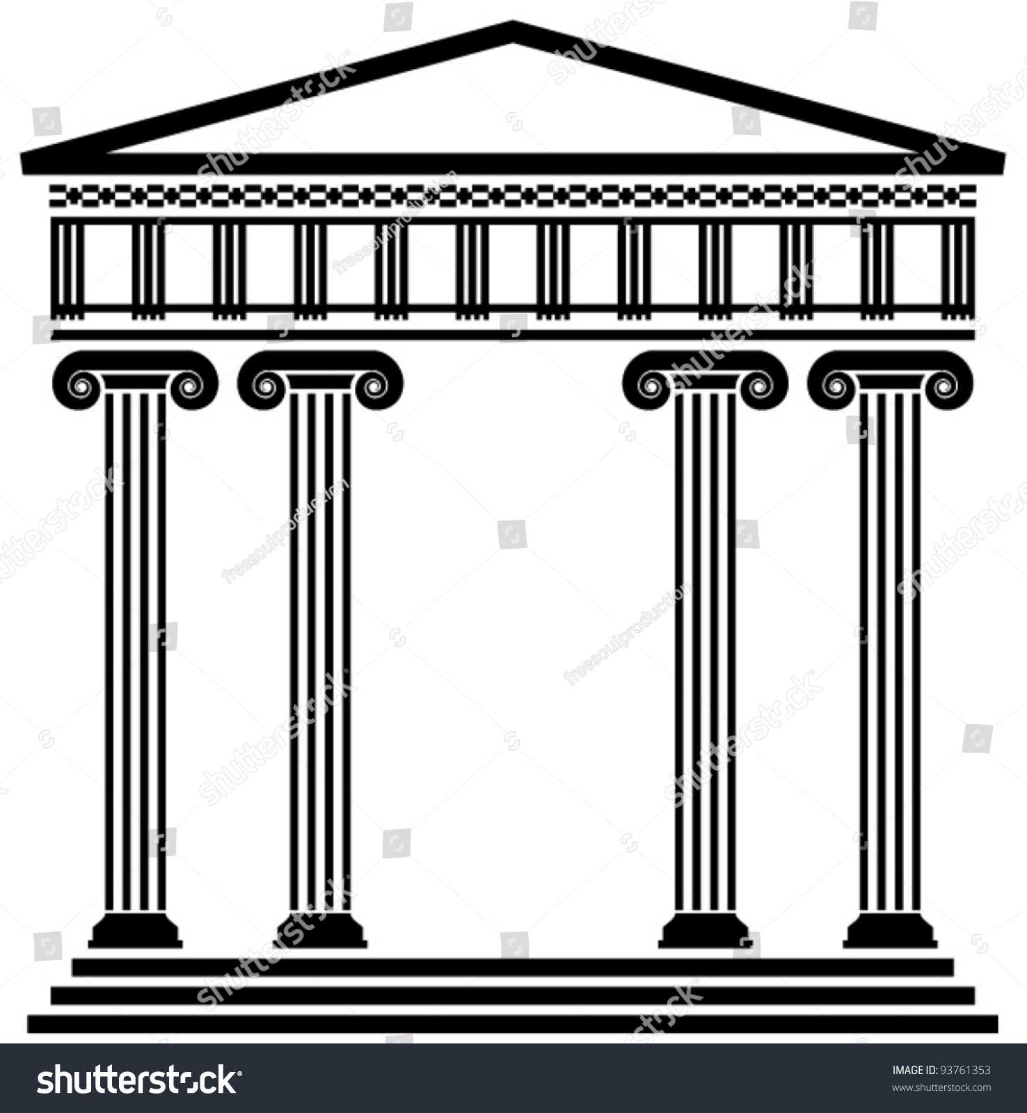 columns in greek architecture. greek columns of the classical orders ...