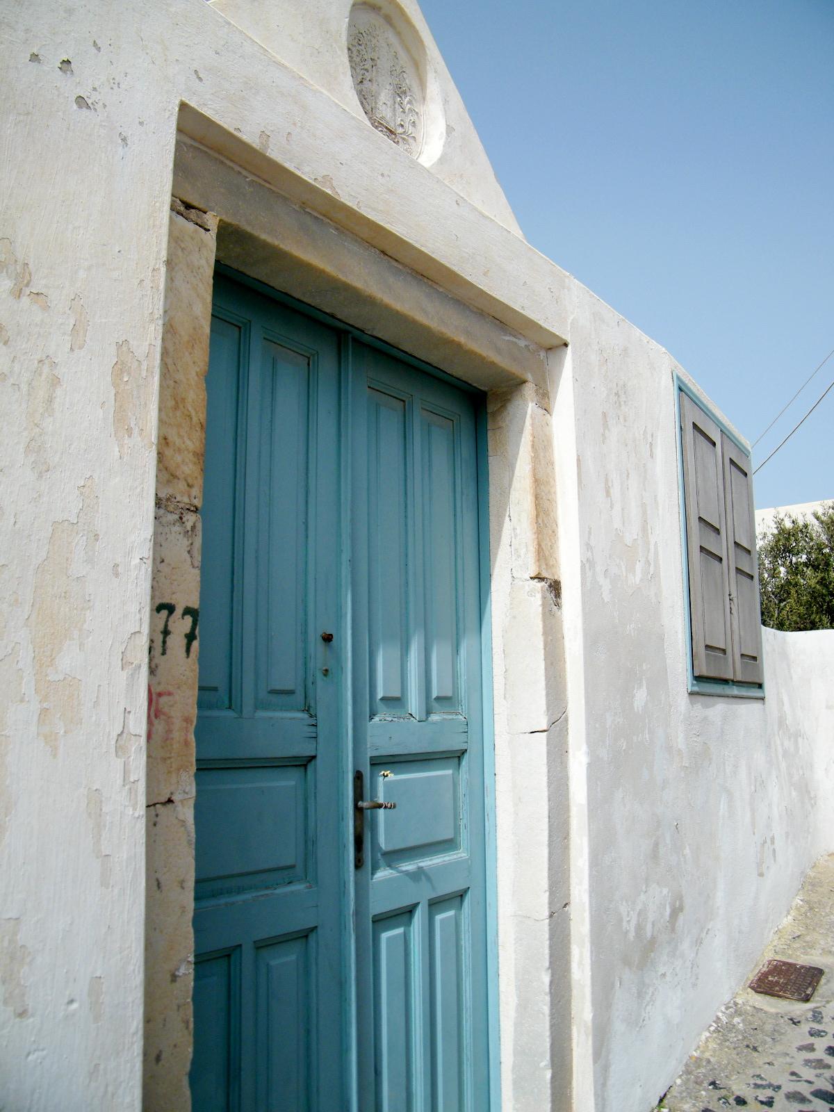 Greek Architecture, Architecture, Door, Greece, Greek, HQ Photo