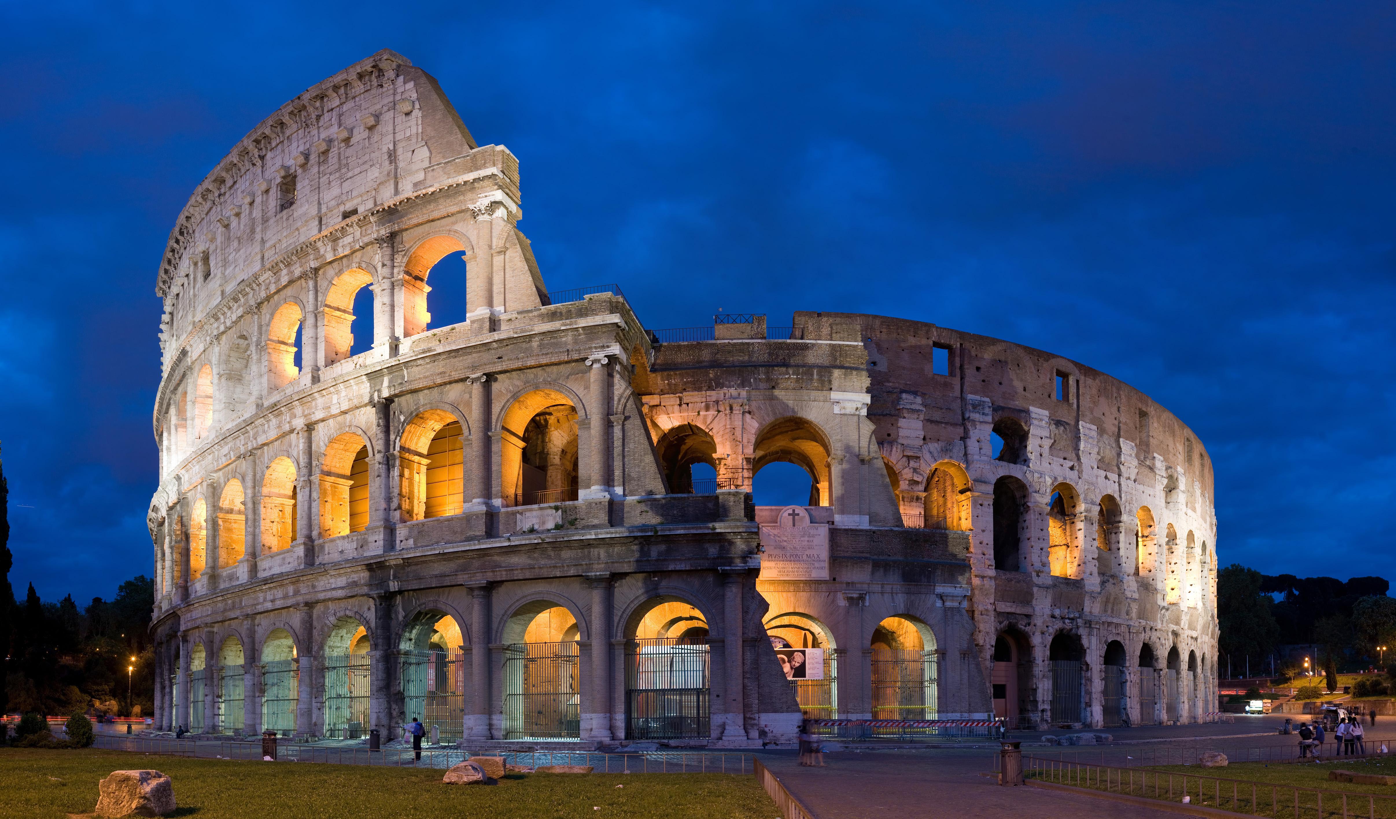 Greek coliseum photo