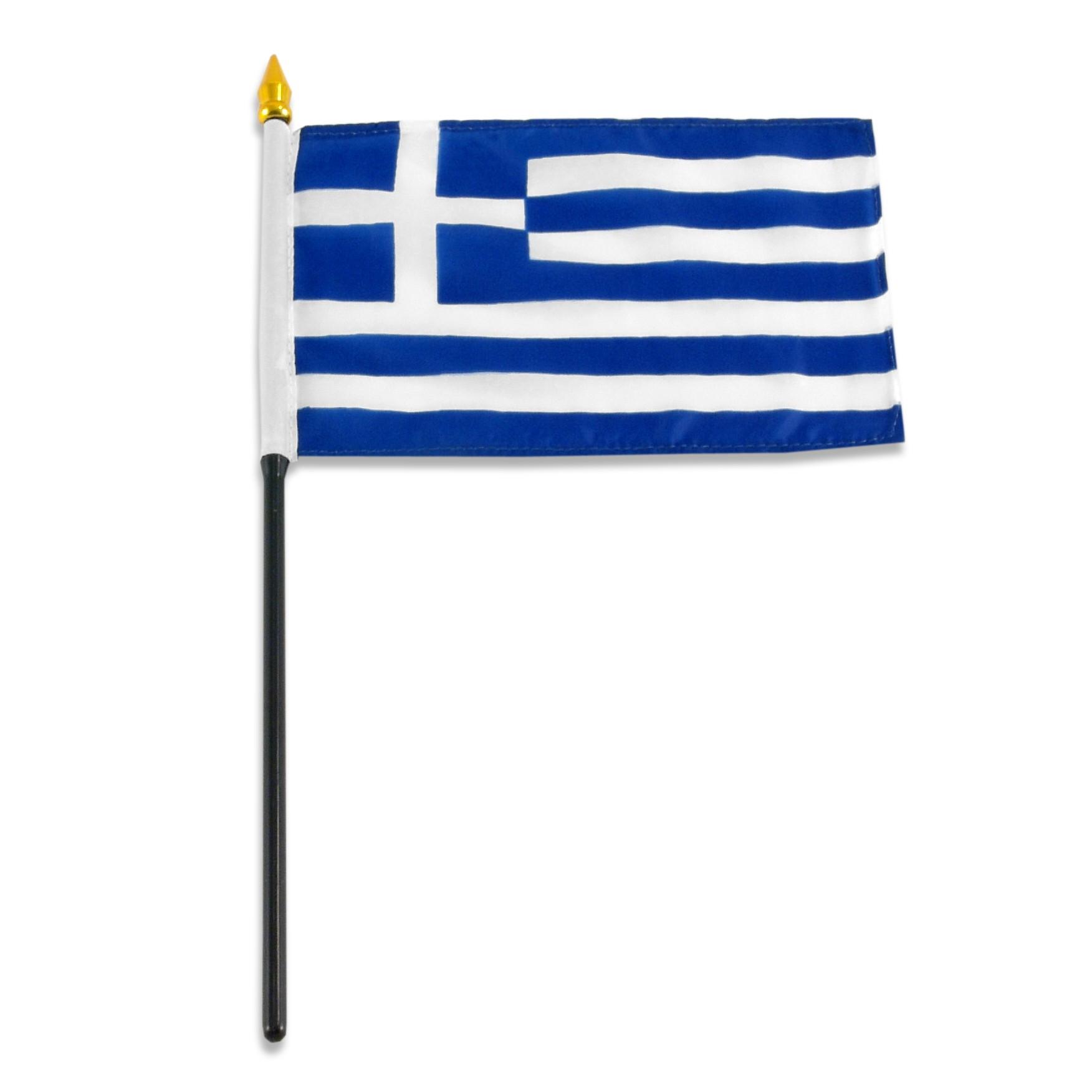 Greece Flag 4 x 6 inch