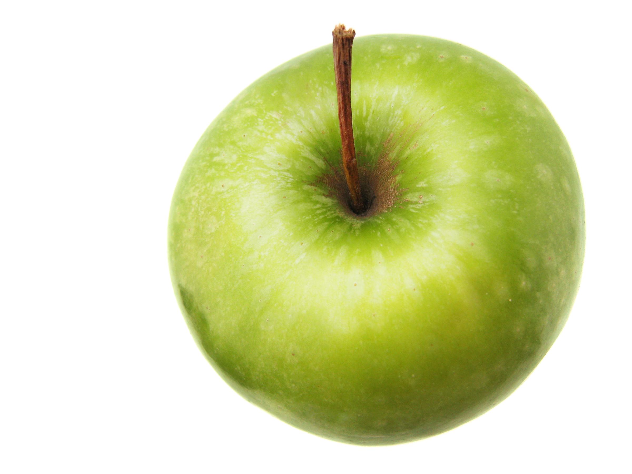 Green apple, Apple, Light, Vegetarian, Snack, HQ Photo