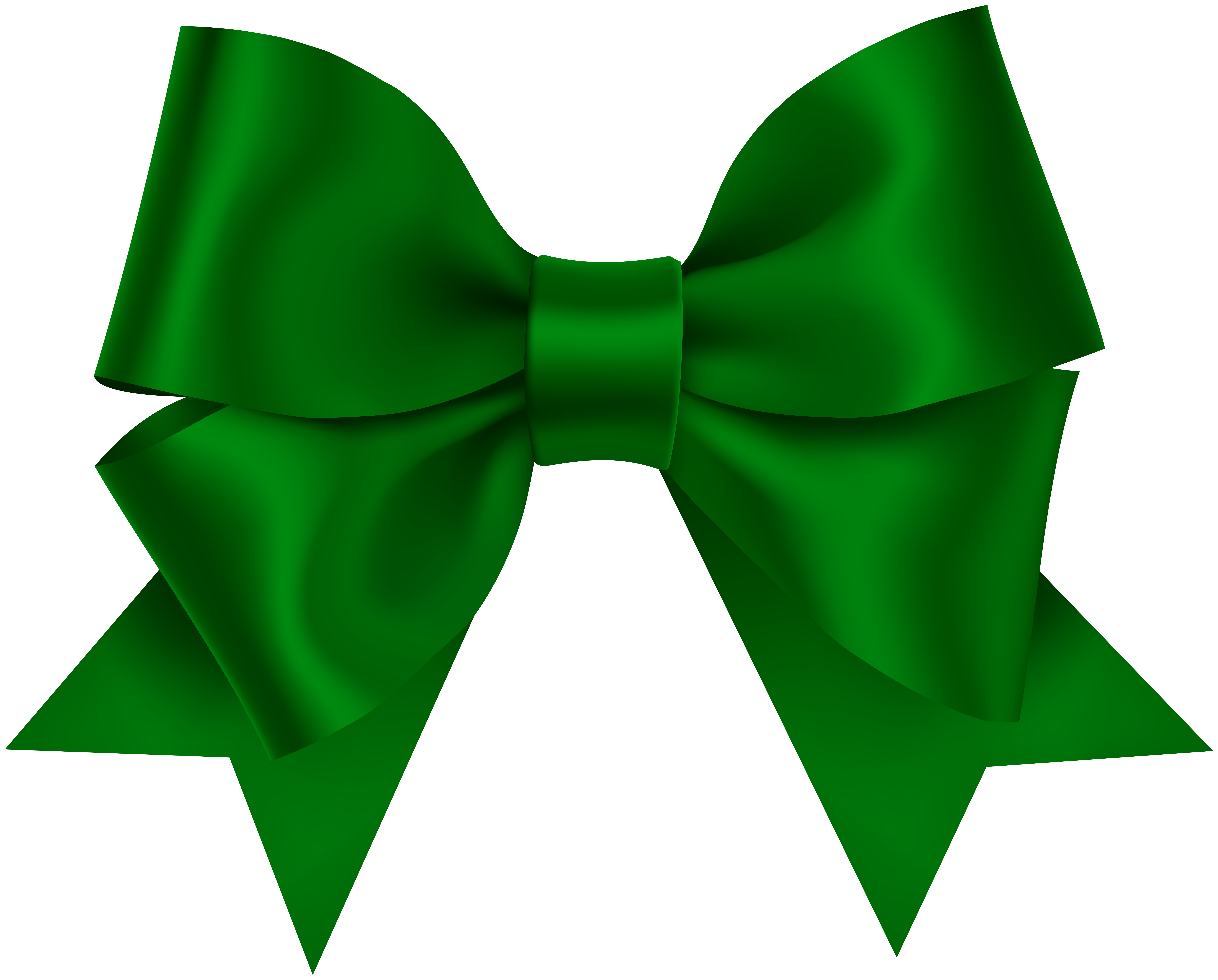 Green bow photo