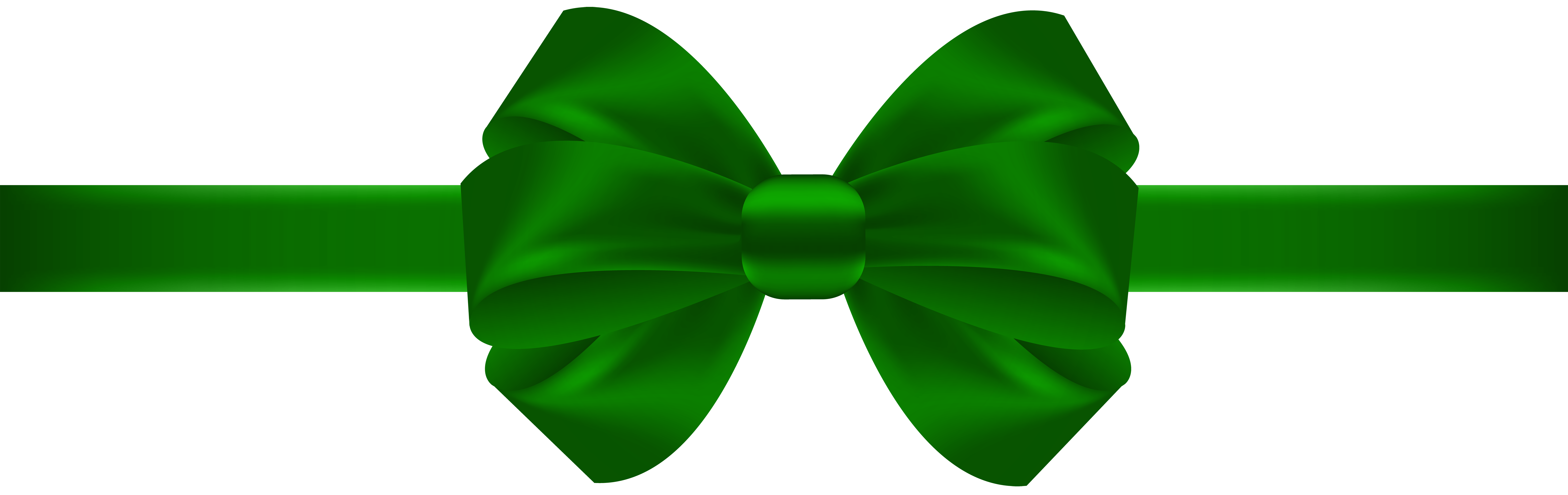 Bow Green Transparent PNG Clip Art | Gallery Yopriceville - High ...