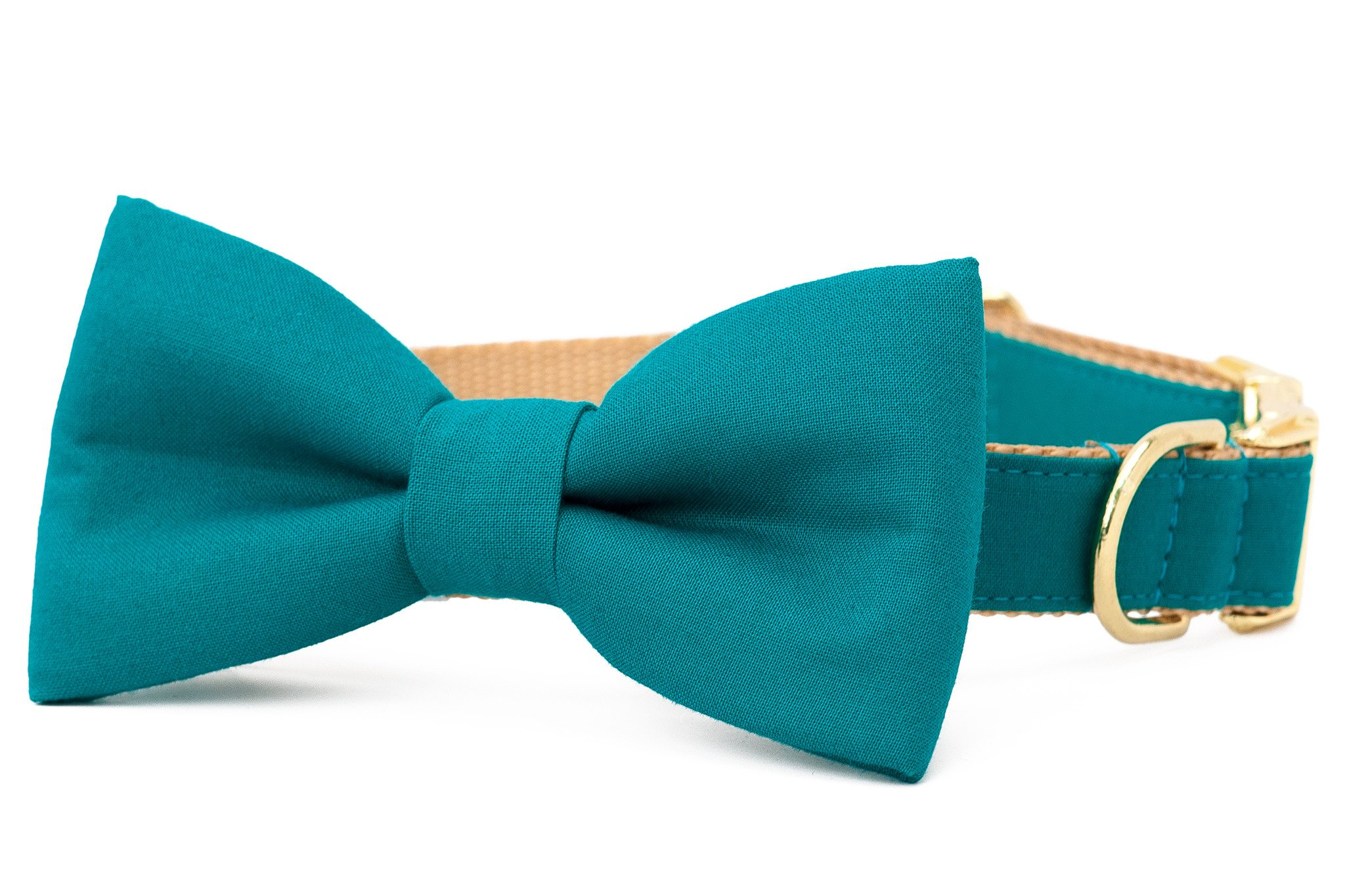 Crew LaLa™ Emerald Green Bow Tie Dog Collar
