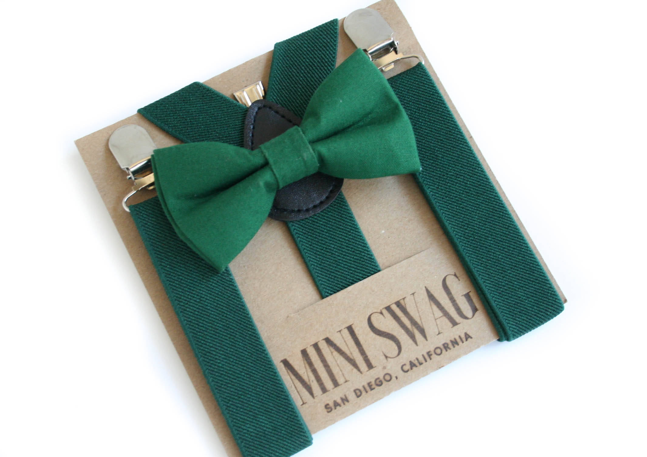 Green Bow Tie Outfit David's Bridal Juniper Color Match