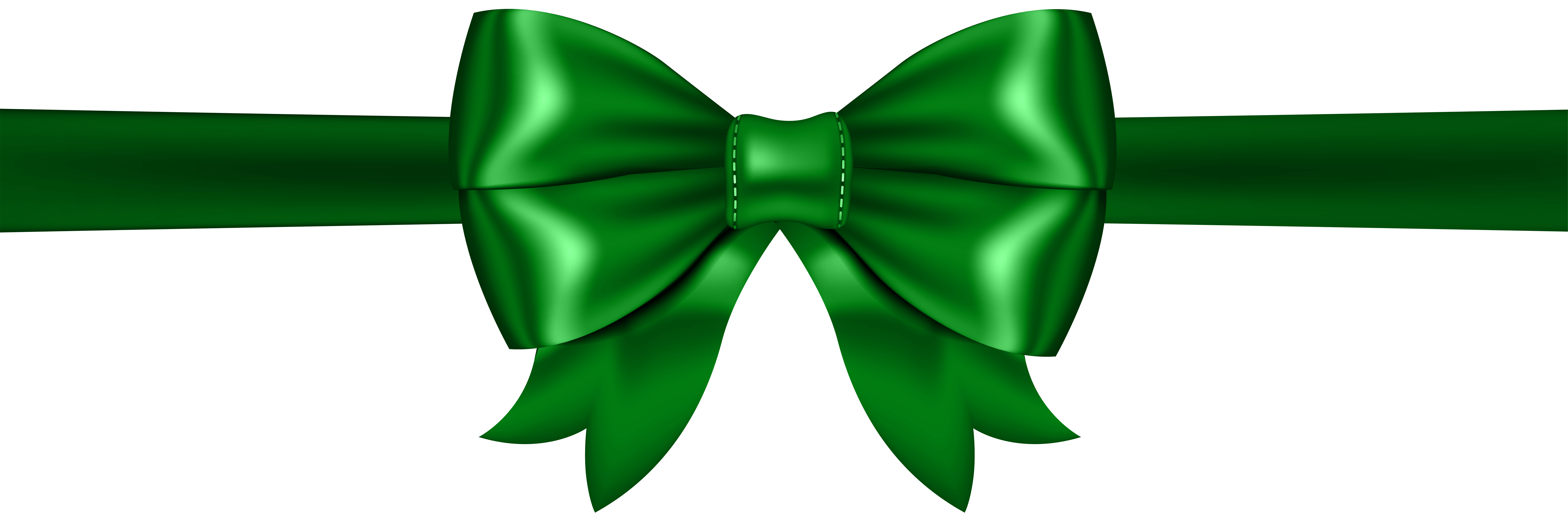 Green Bow PNG Clip Art | Gallery Yopriceville - High-Quality Images ...